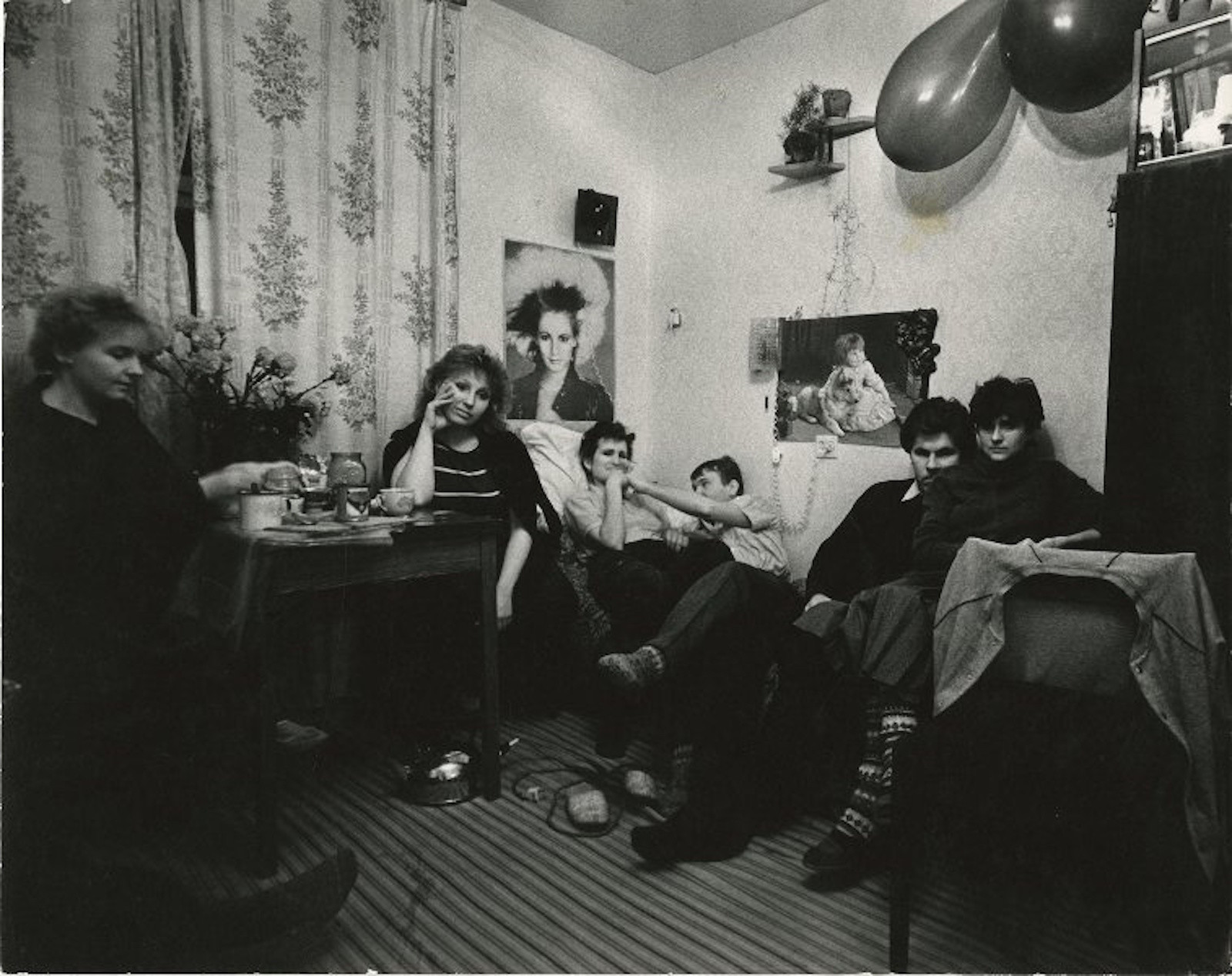 1986 - 1992. Селедцова Светлана. «В молодежном общежитии»