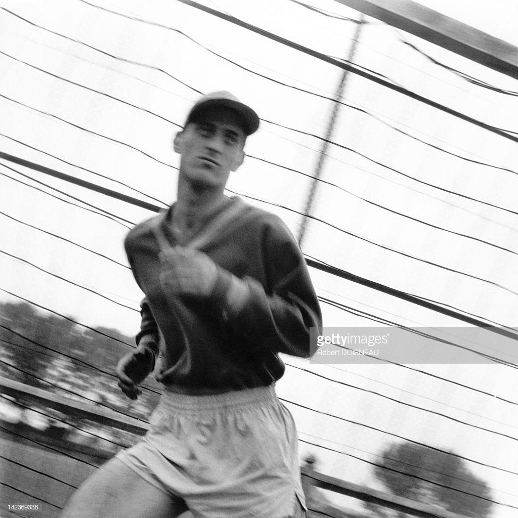 1953. Лучший вратарь французской сборной Рене Виньяль