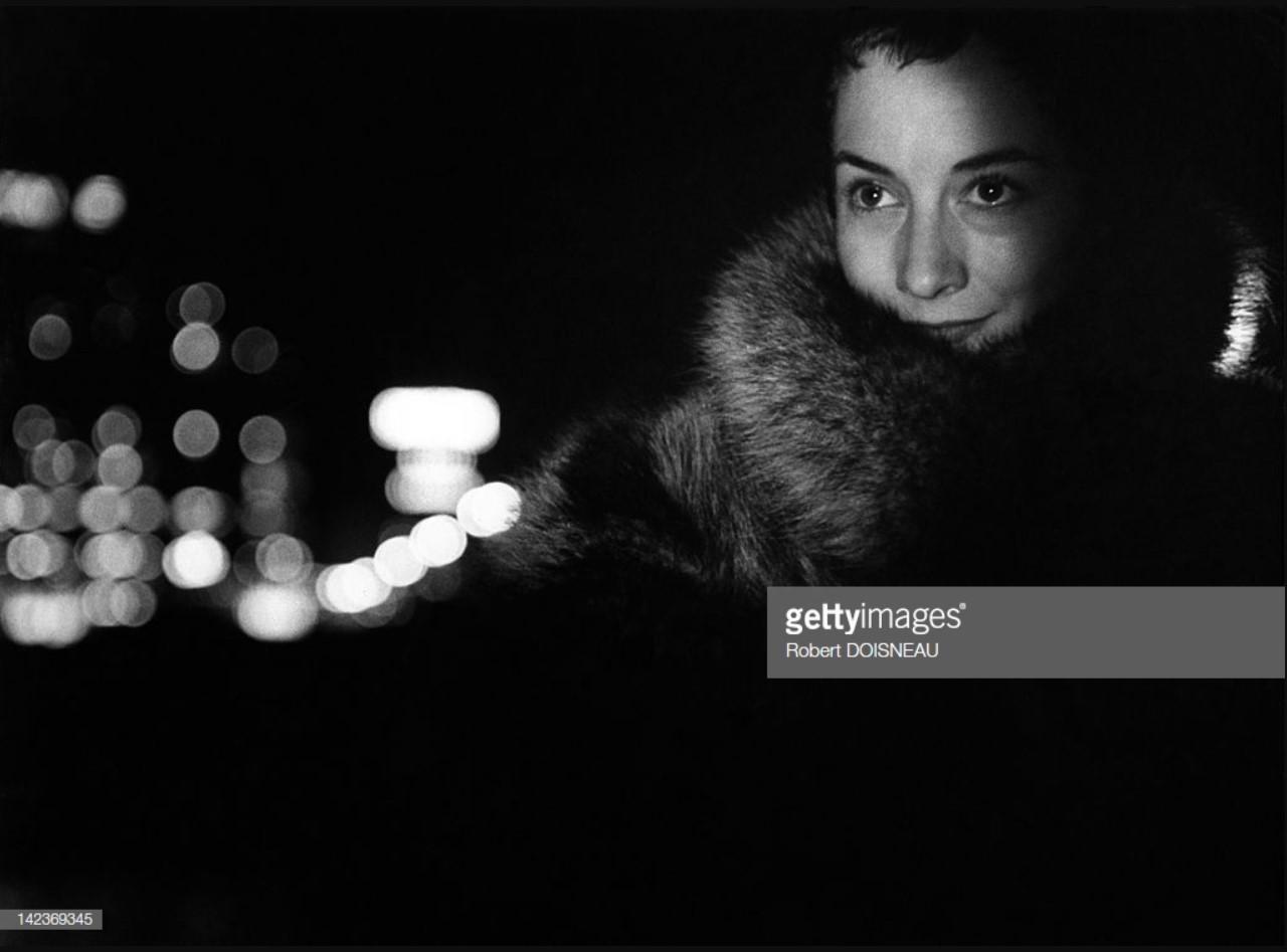 1954. Портрет Сюзанн Флон