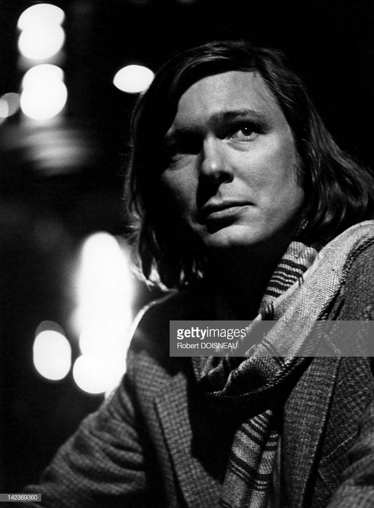 1977. Портрет Дэвида Макнейла, музыканта и писателя, сына Марка Шагала