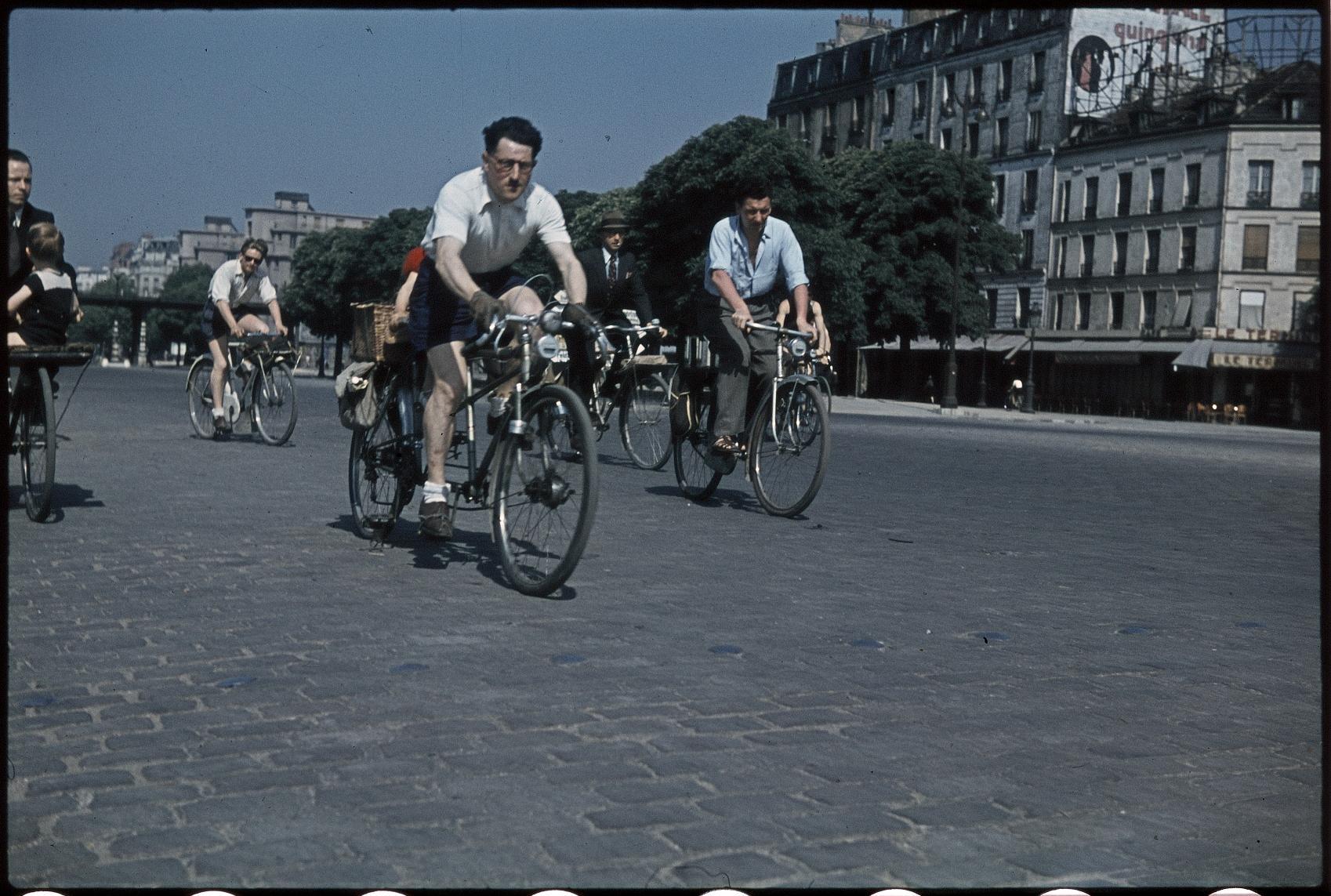 Велосипедисты. Винсенн