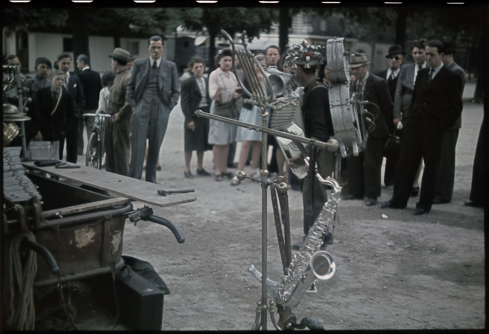 Человек-оркестр. Венсен