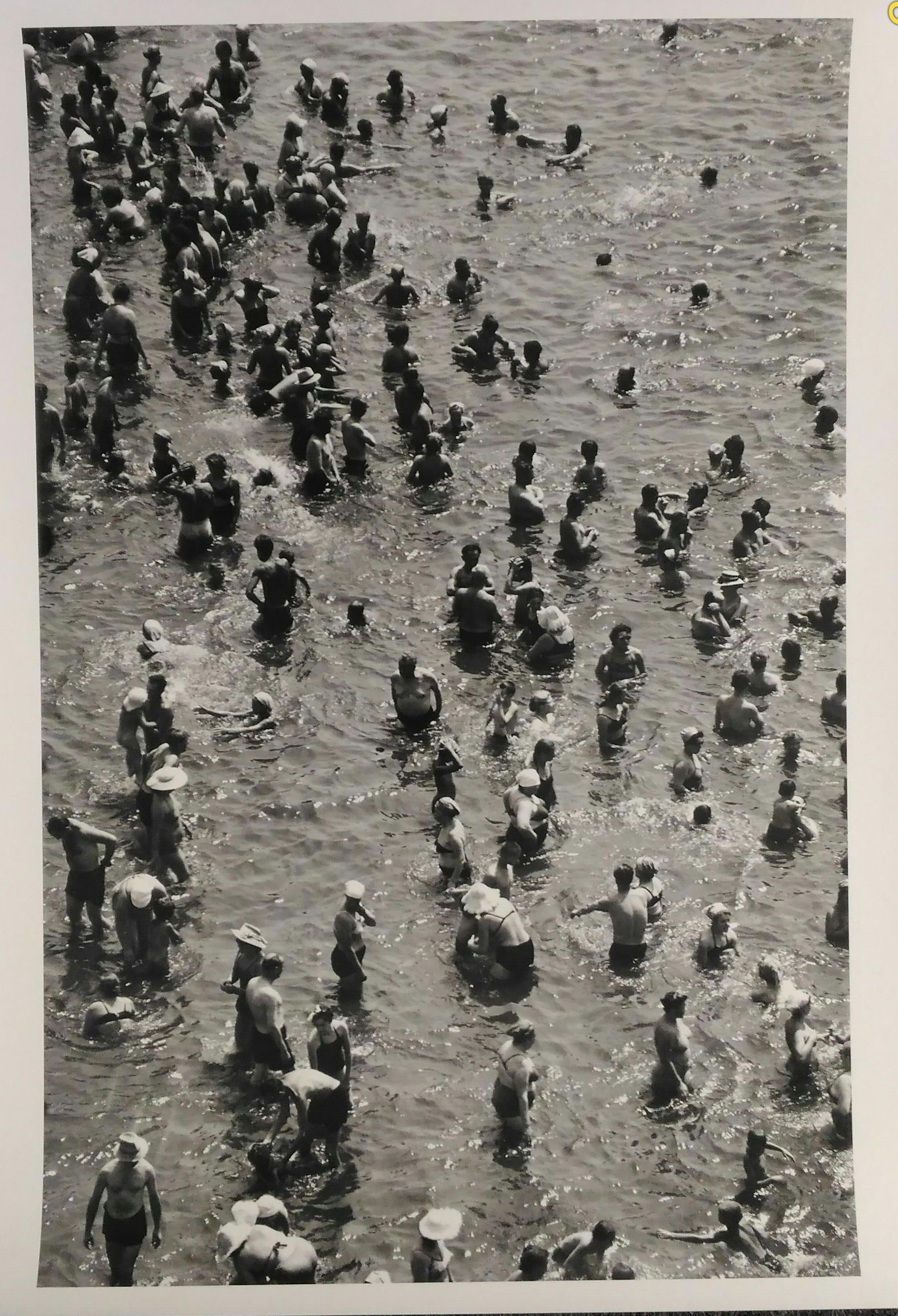 1950-е.  Бальтерманц Д.Н. «Купание»