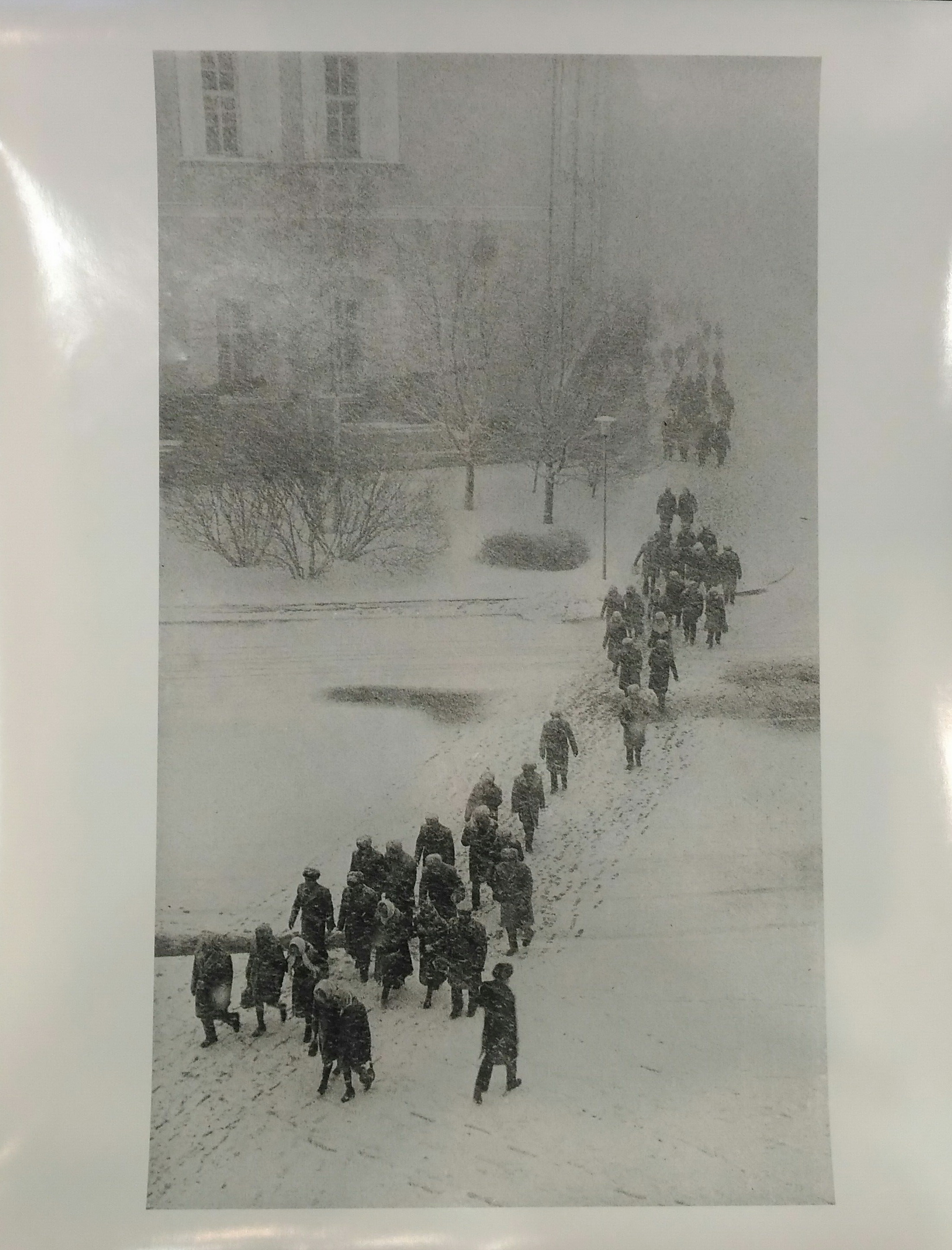1960-е.  Бальтерманц Д.Н. «Снегопад»