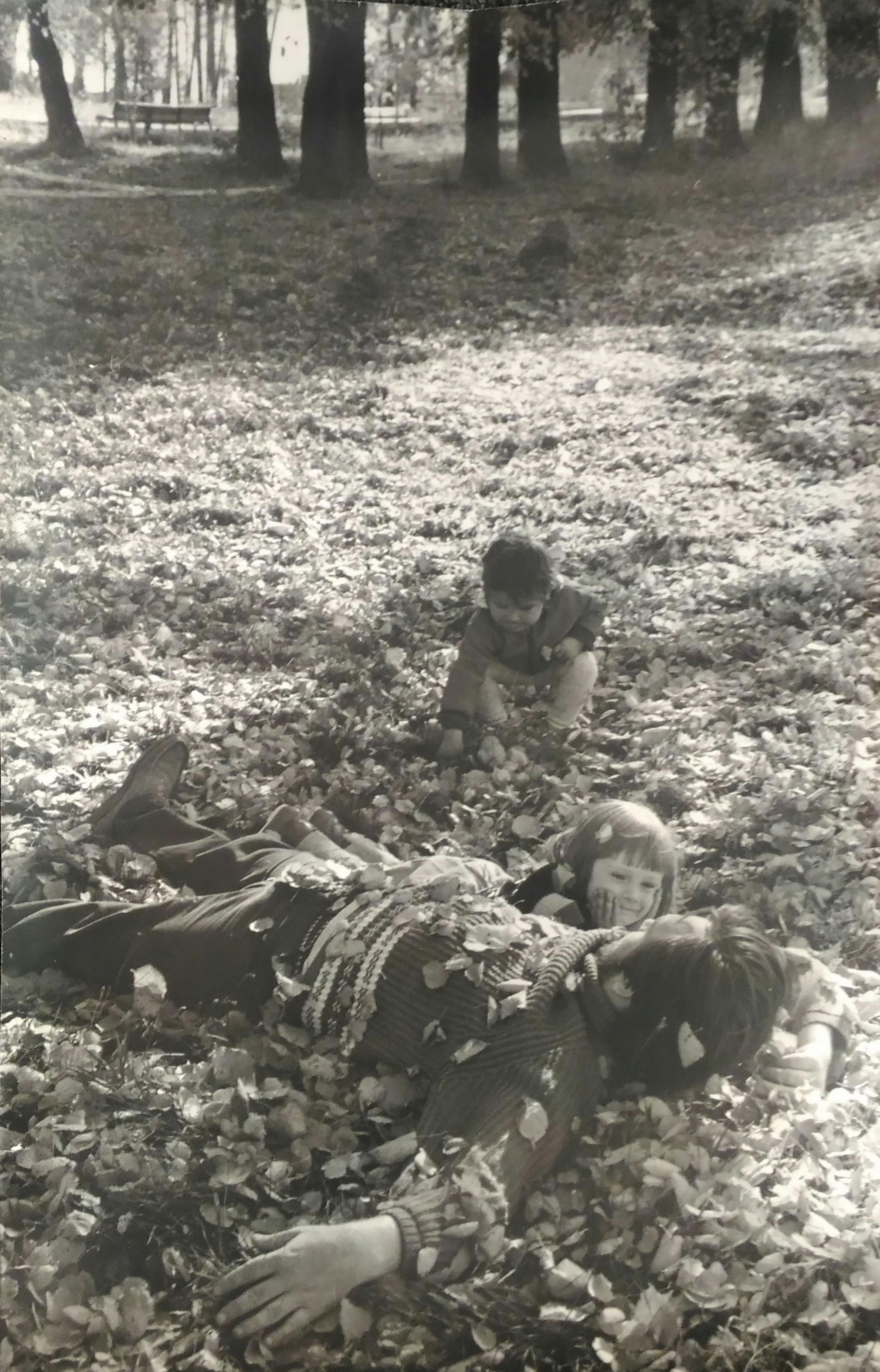 1960-е. Свиридова Н., Воздвиженский Д. «Папа»