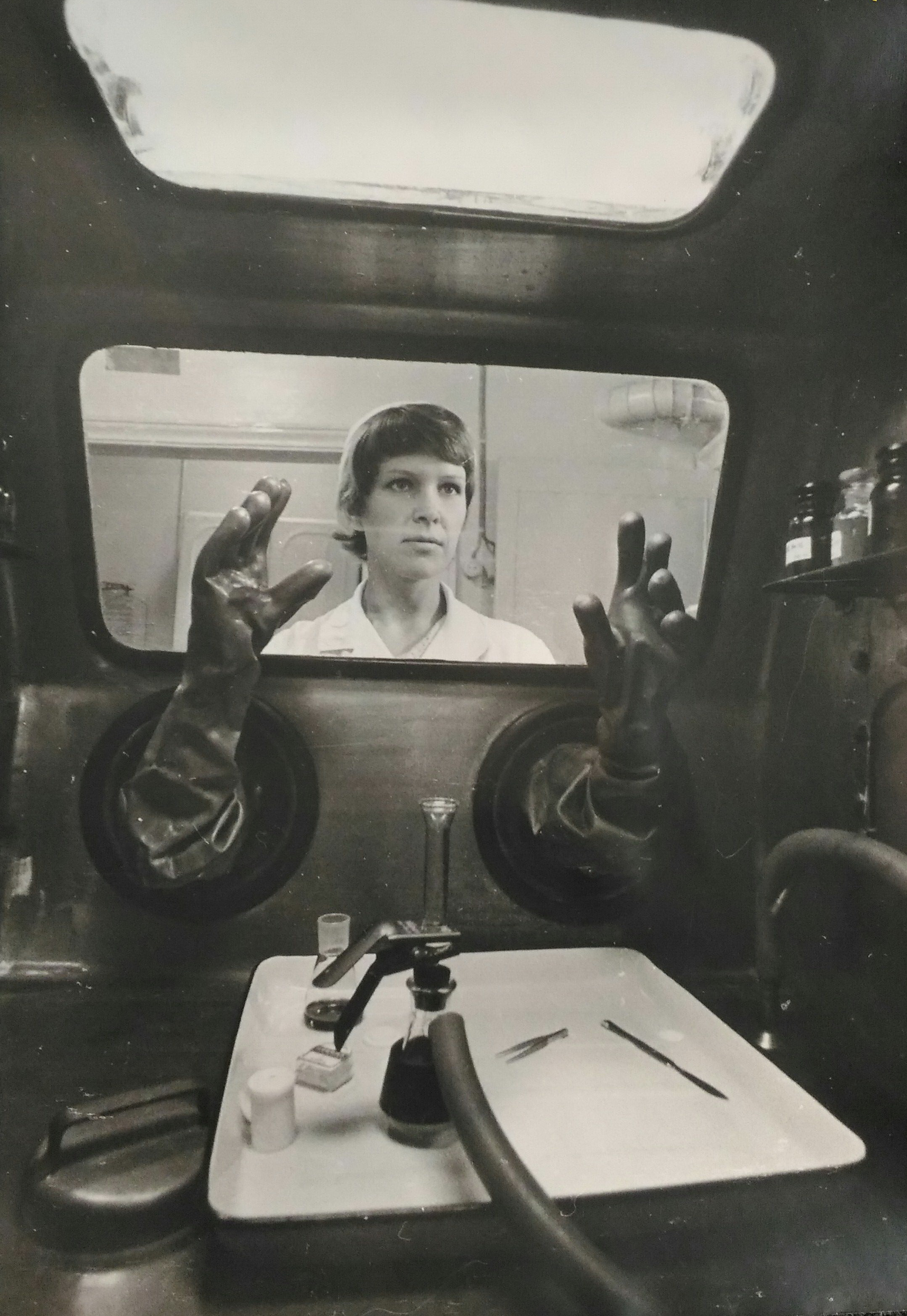 1970-е. Белецкий Н.А. «В лаборатории»