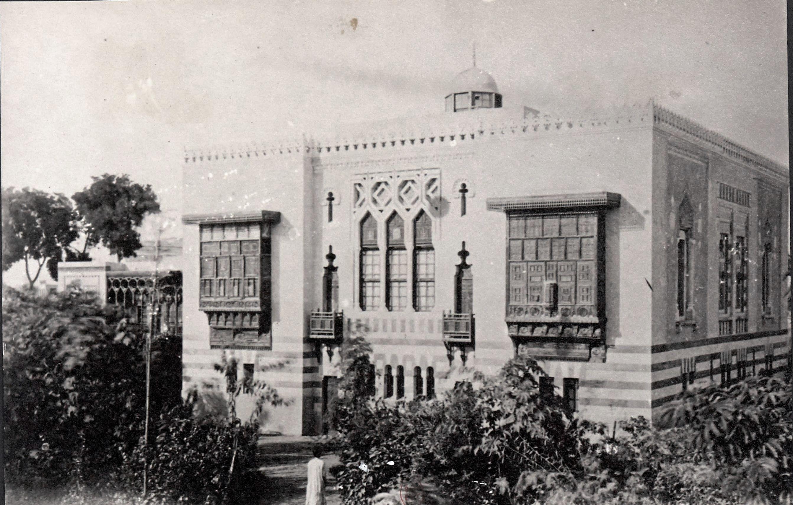 1870.  Здание французской дипломатической миссии