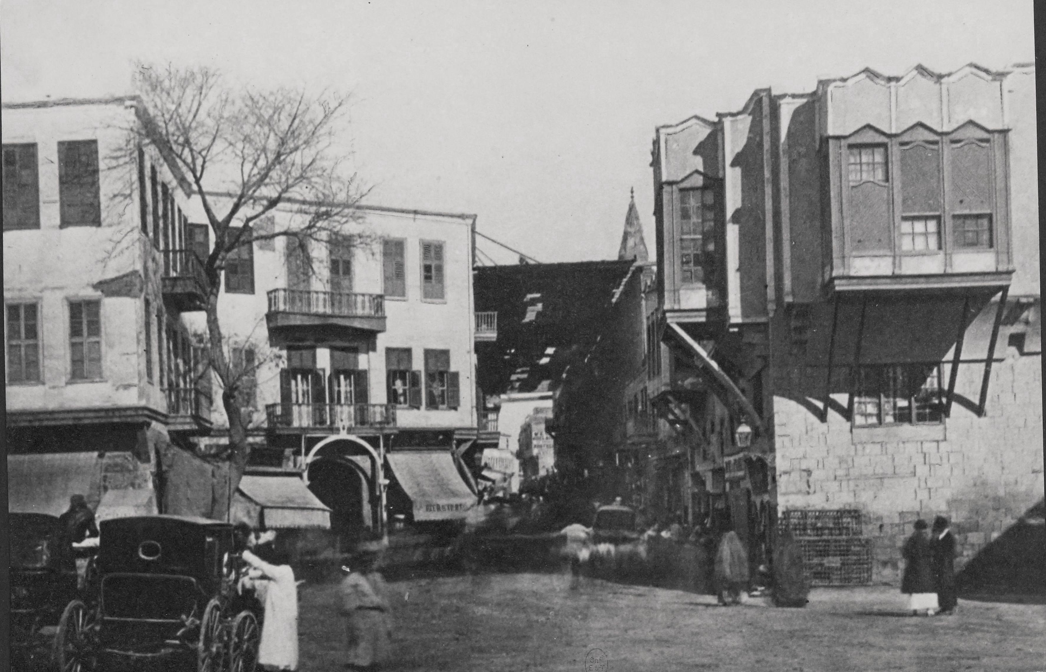 1856. Улица Муски