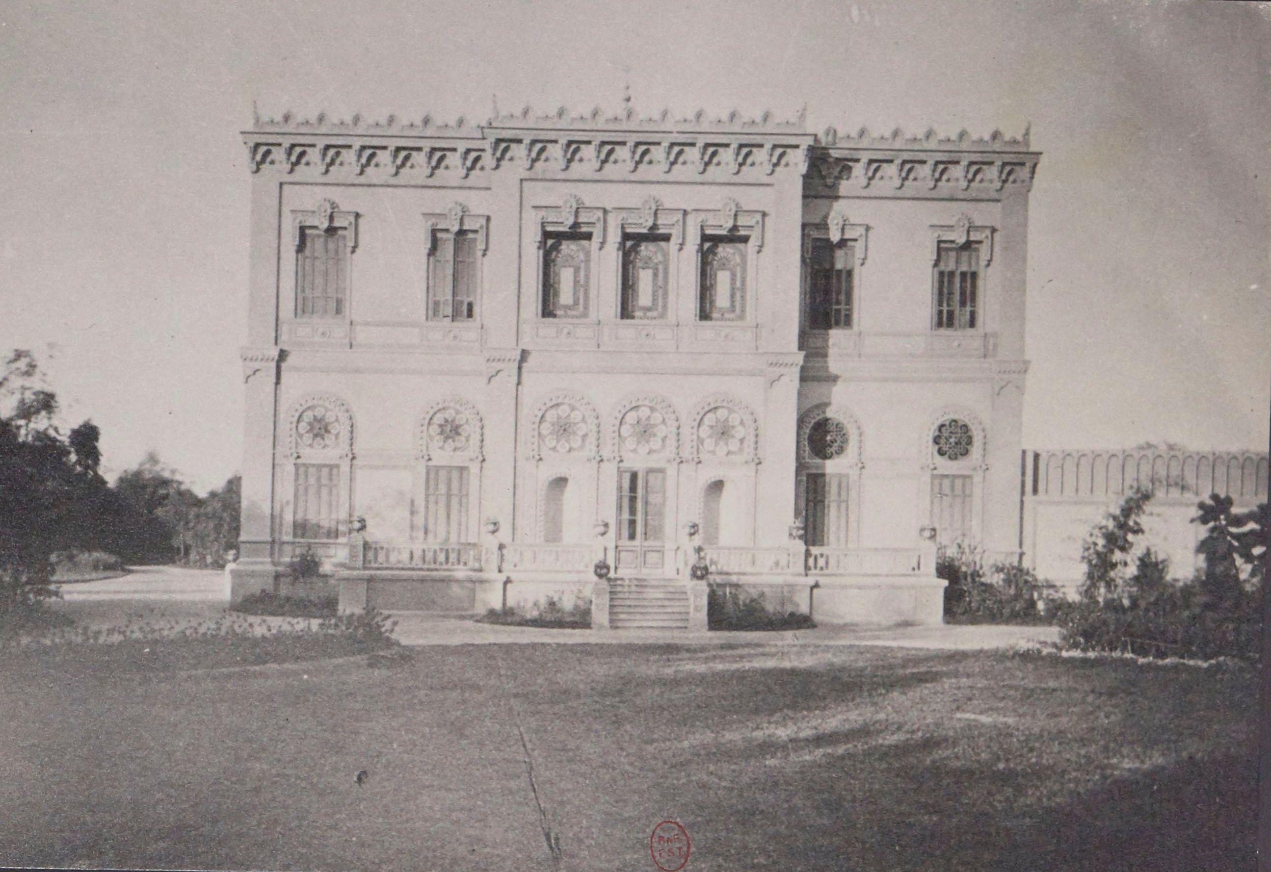 1870. Дворец Шериф-паши