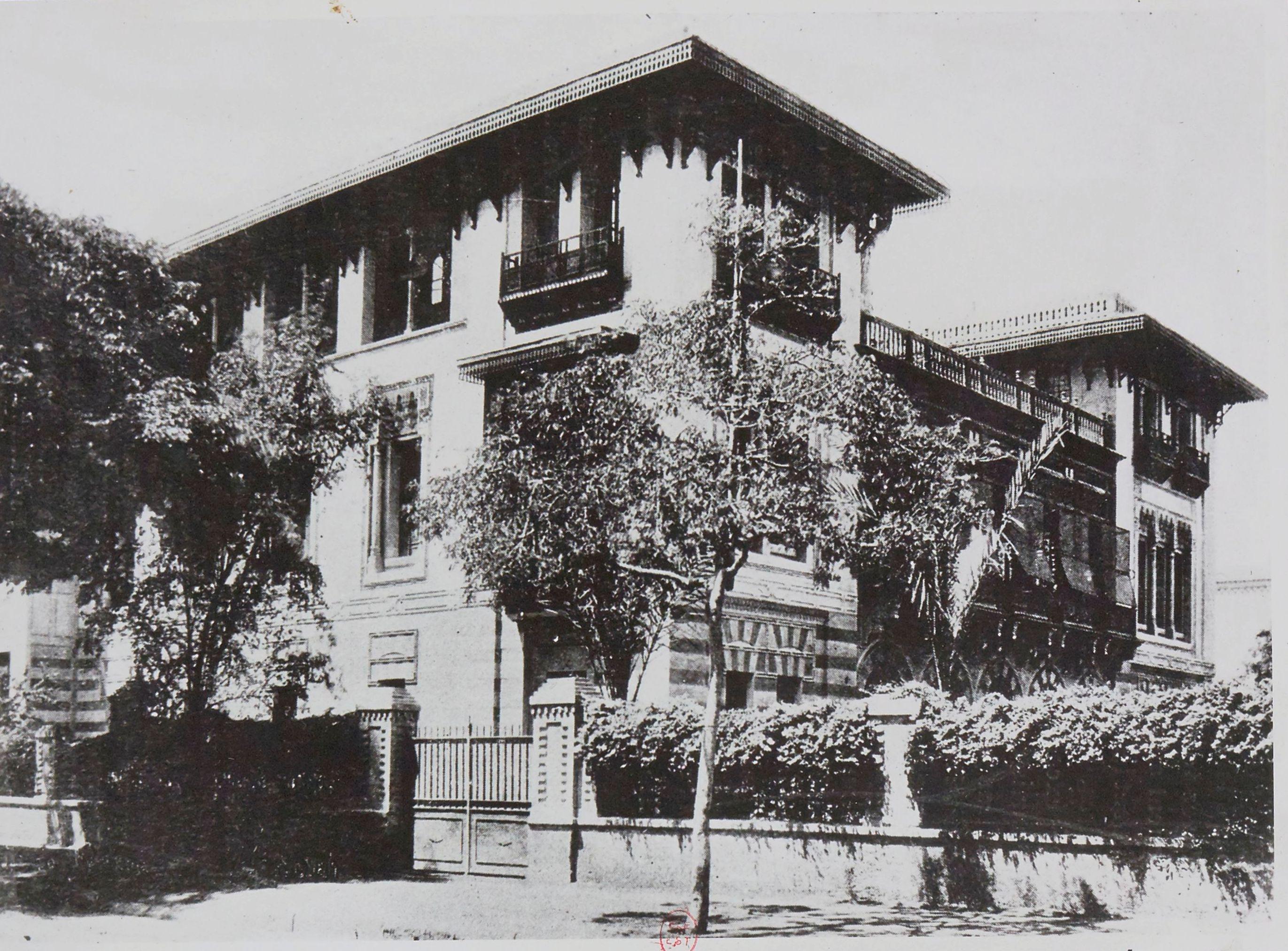 1884. Отель Сен-Морис