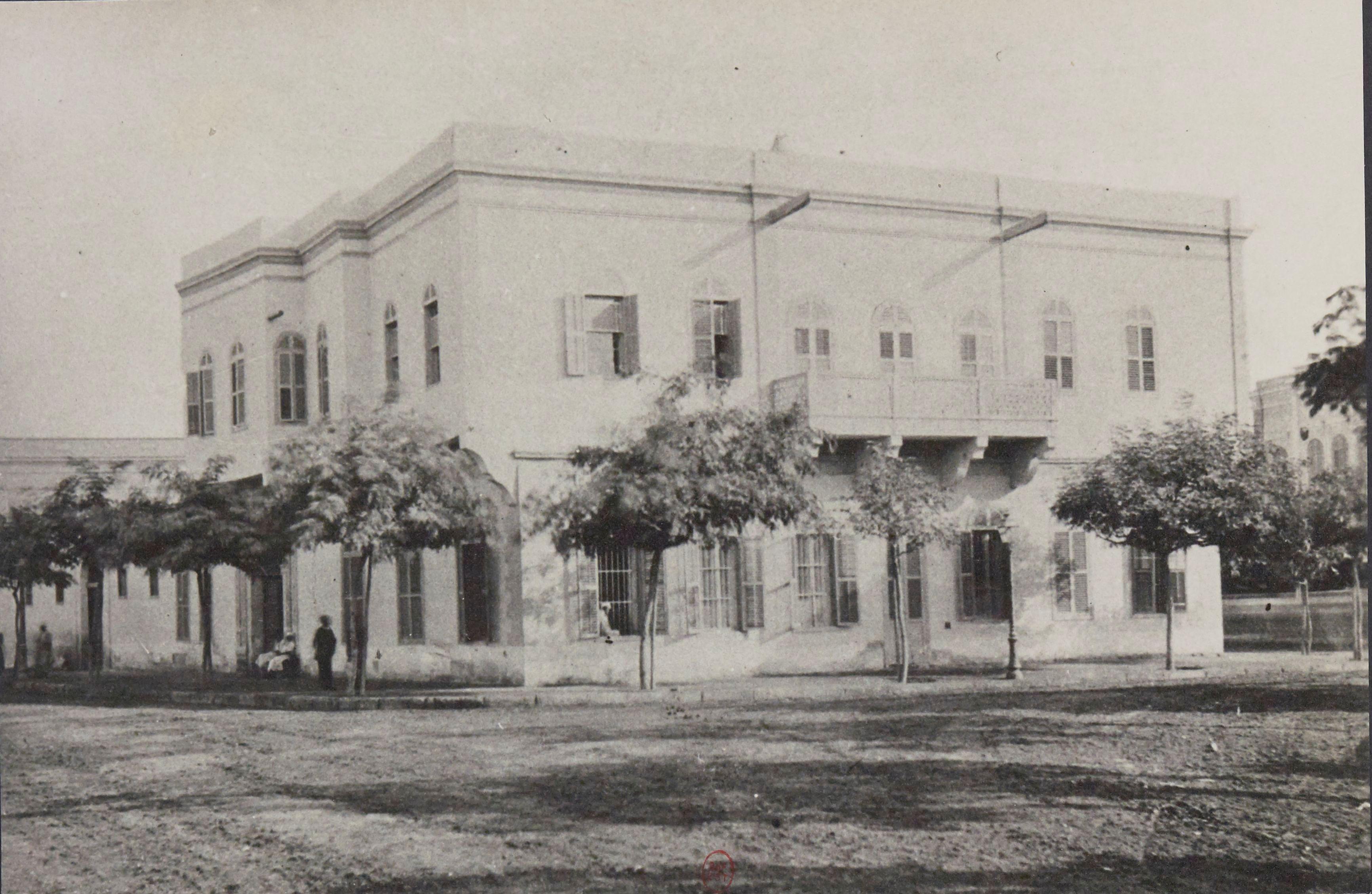 1887. Дворец Араби-паши