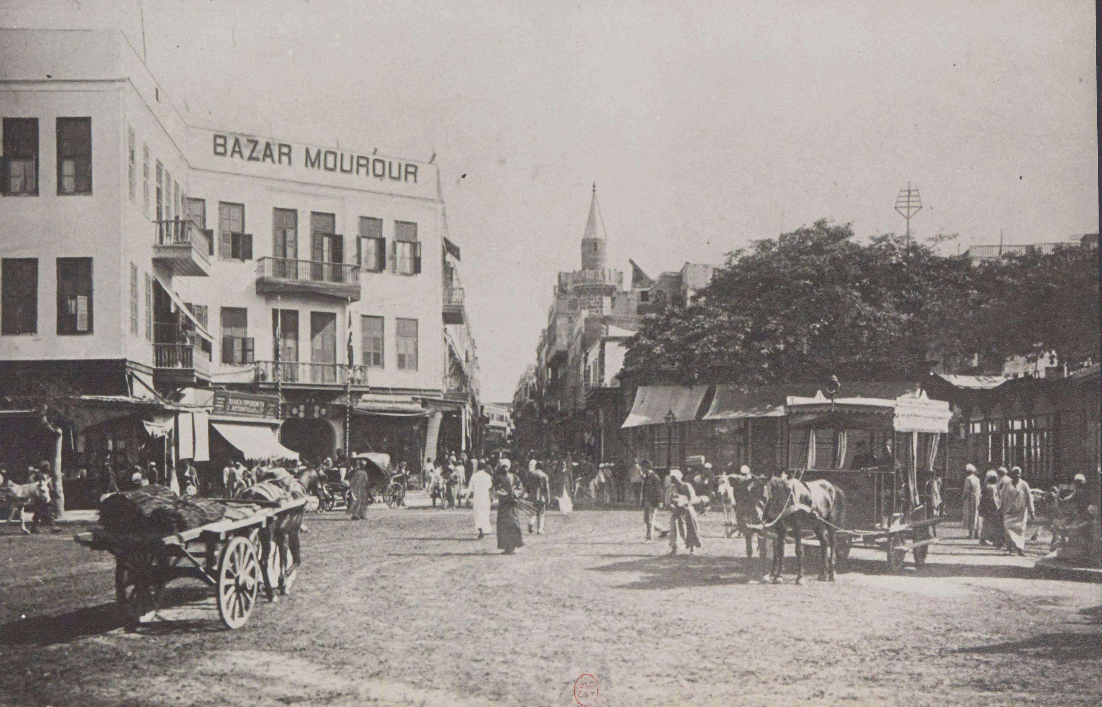 1902. Улица Муски
