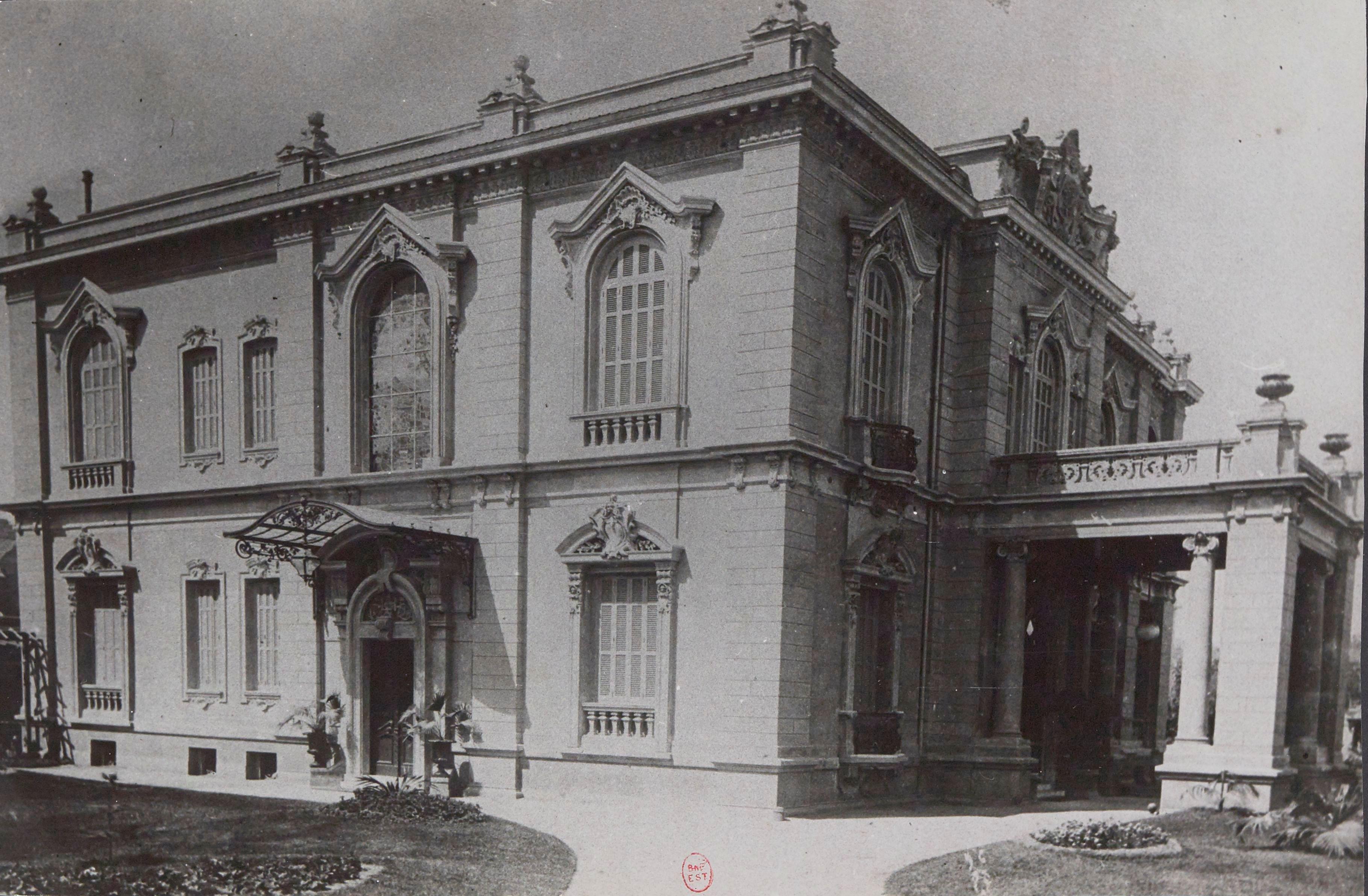 1903. Дворец Мазлум-паши