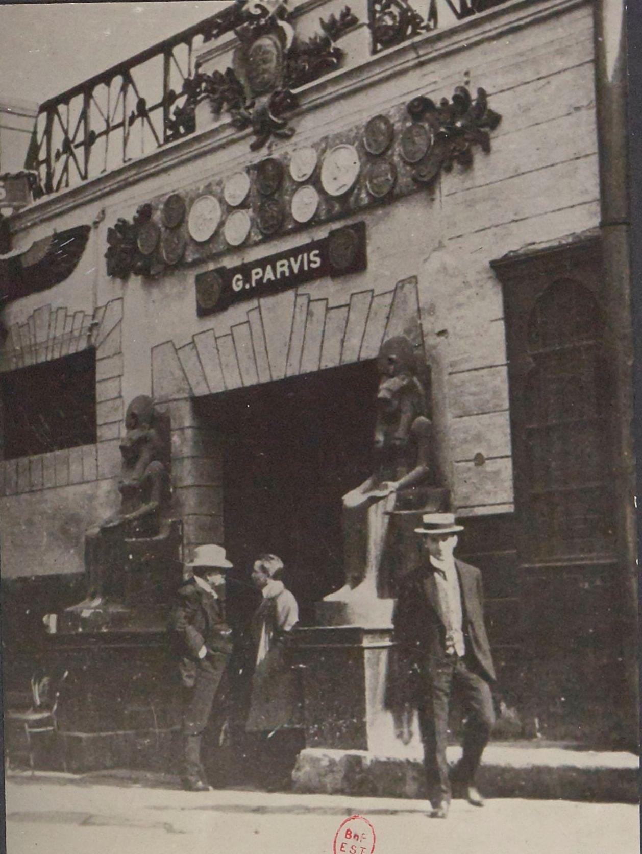 1912. Улица Муски