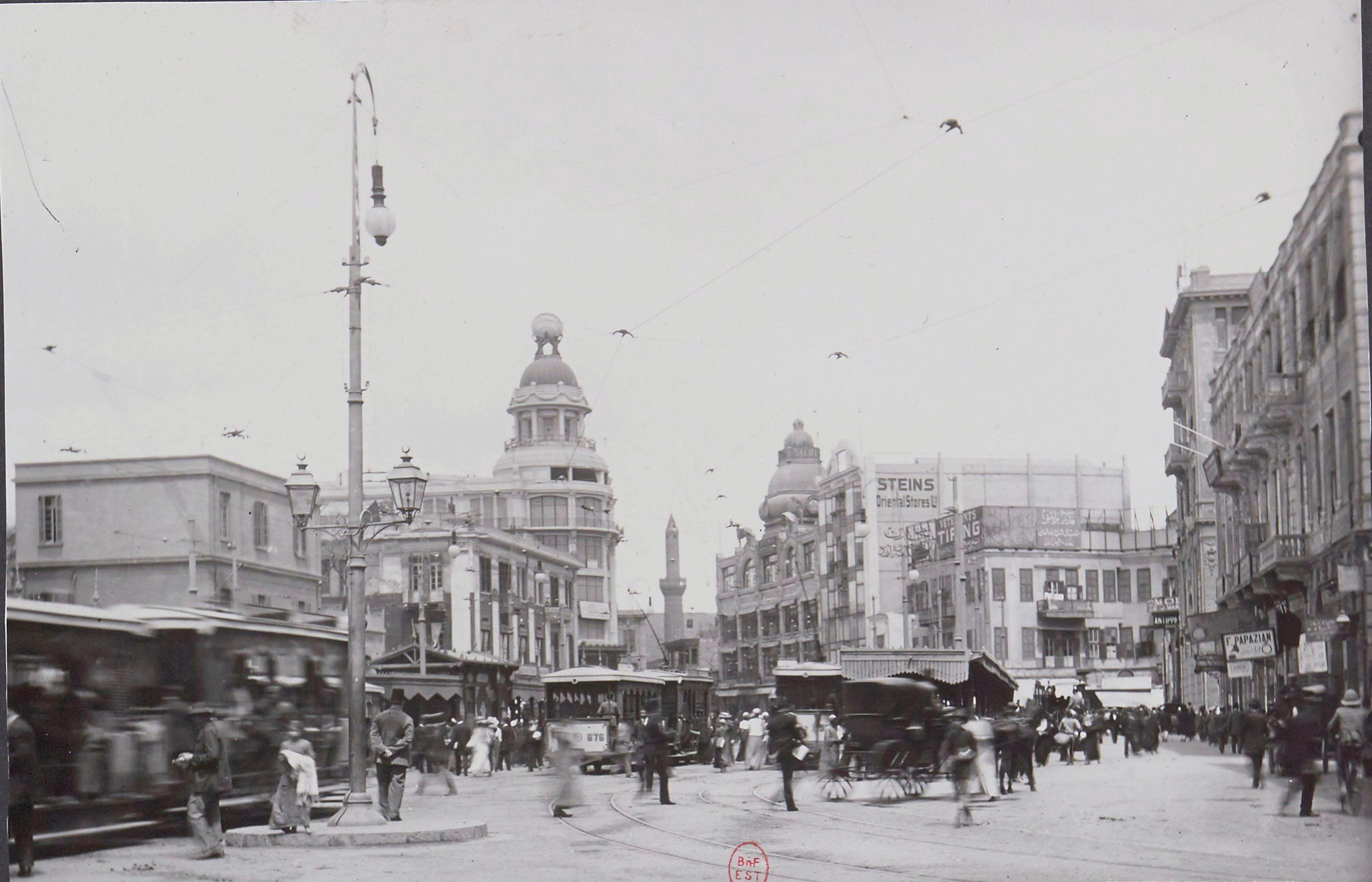 1913. Площадь Аль Атаба