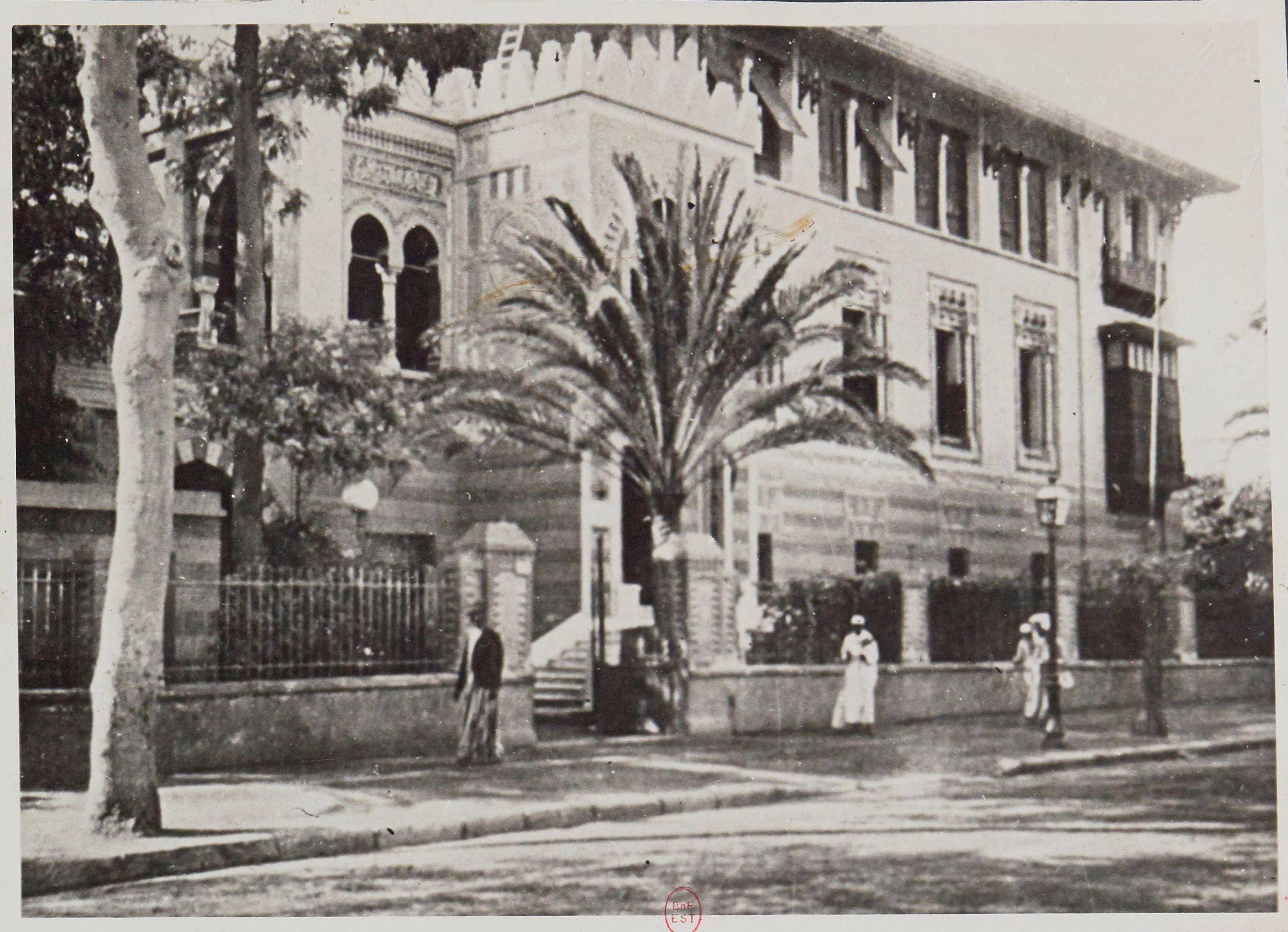 1936. Отель Сен-Морис