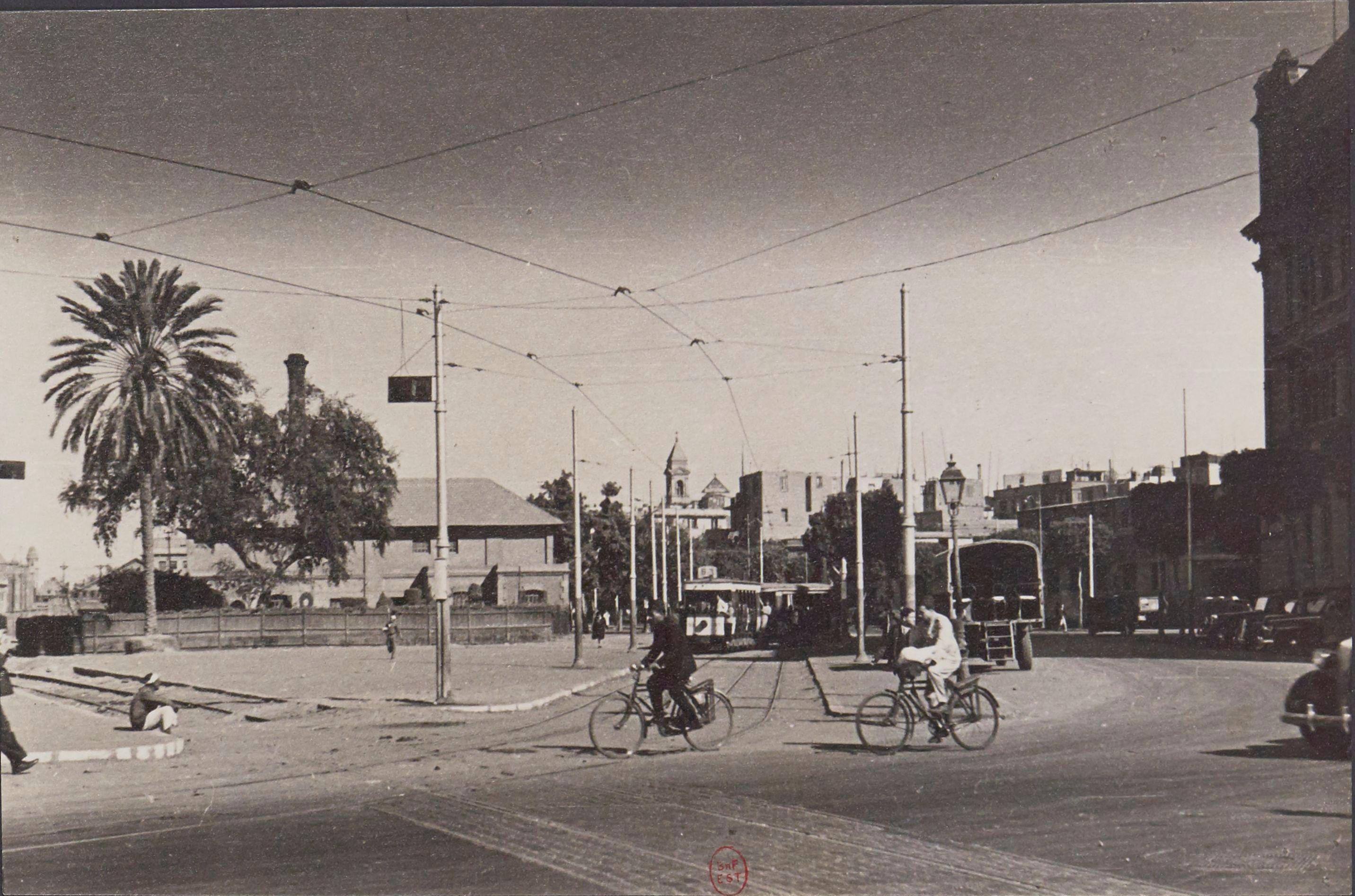 1945. Авеню Малака Назли