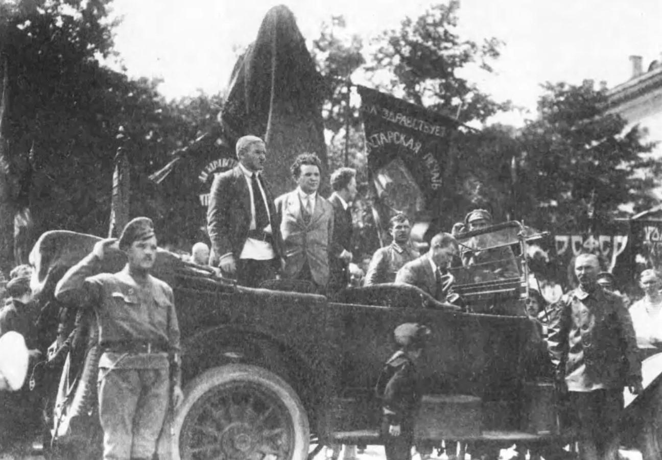 Открытие памятника Володарскому