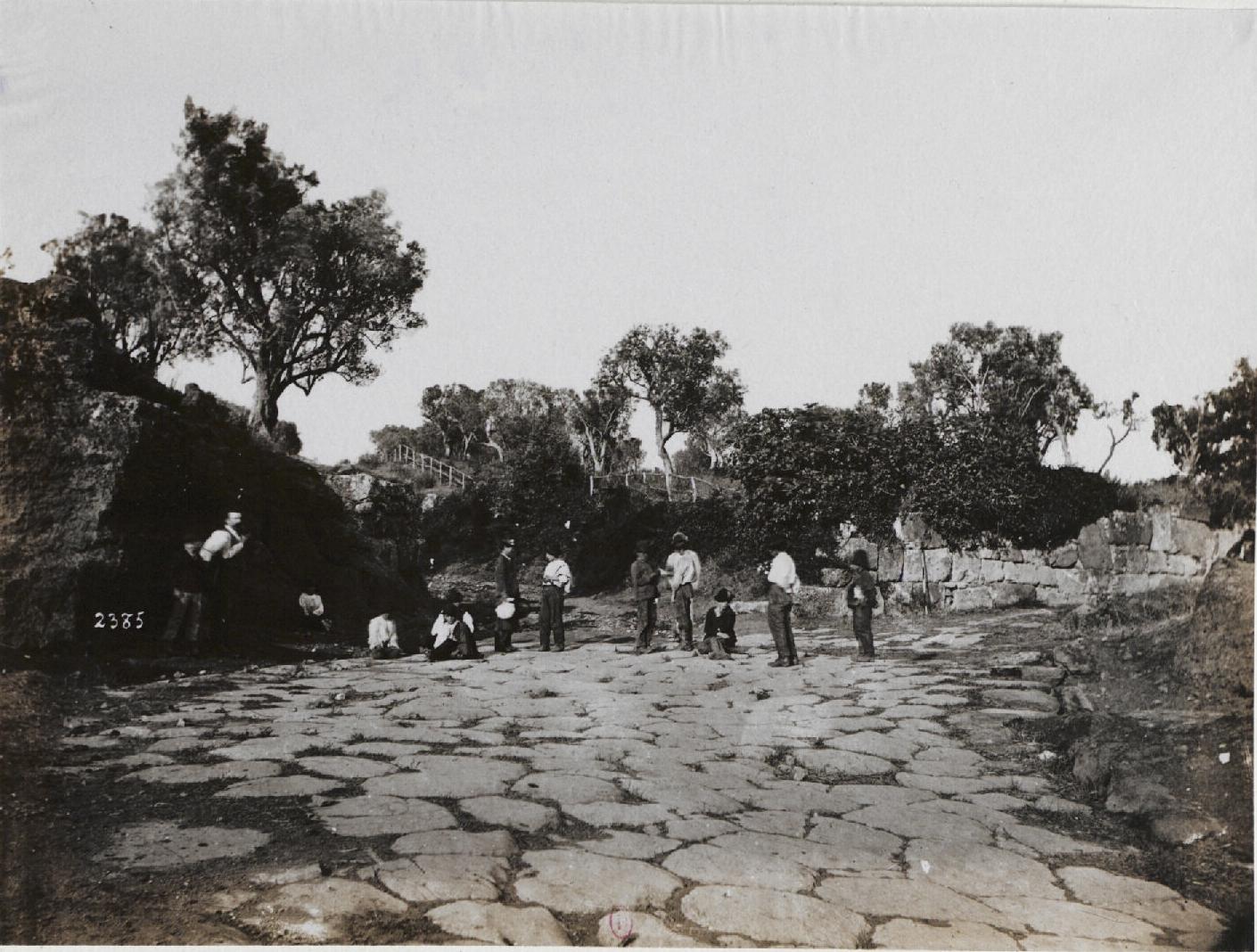 Ланувий. Древняя дорога