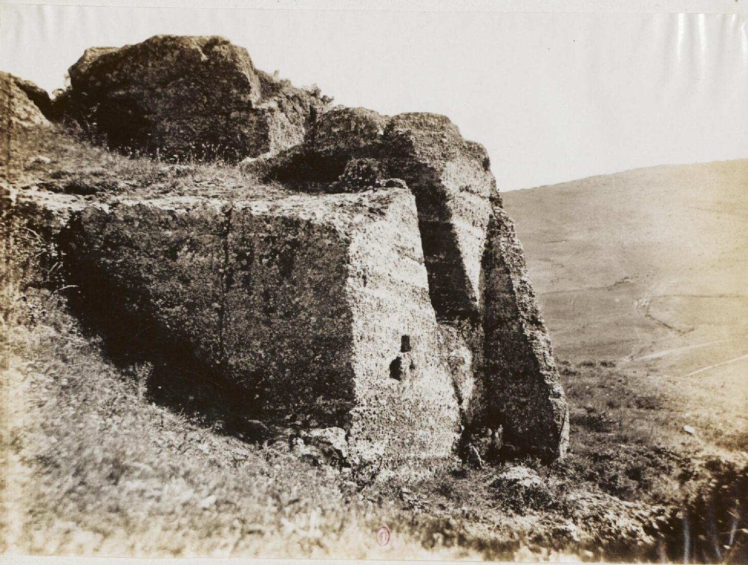 Тускул.  Акрополь, Интерьер ворот, Северная сторона, 100 н.э.