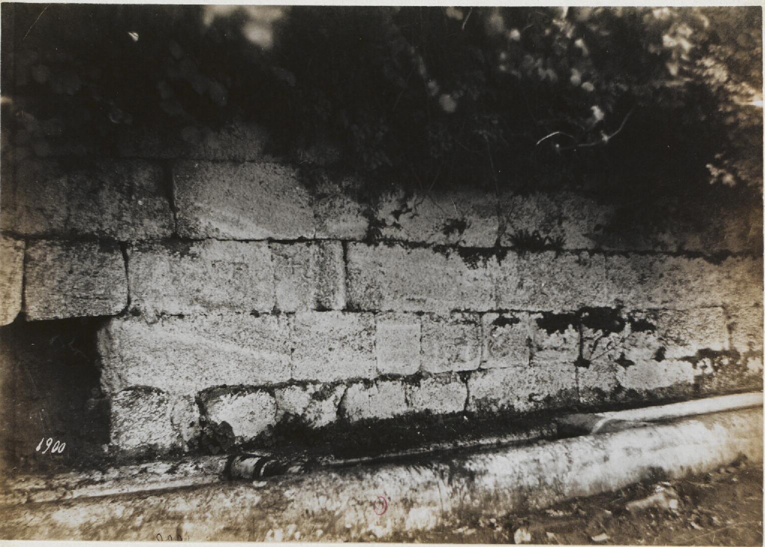 Тускул. Акрополь, южная сторона. 100 н.э