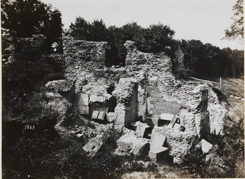 Тускул. Амфитеатр. Общий вид коридоров. 100 г. н.э.