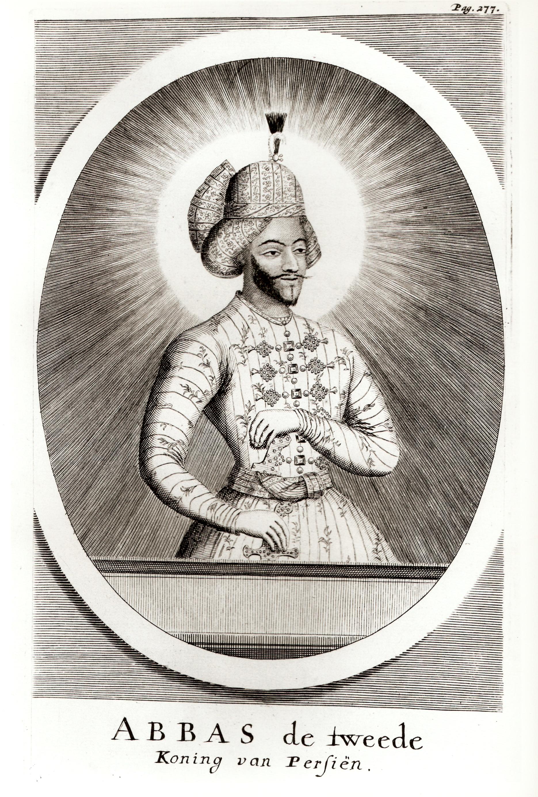 Аббас, Король Персии