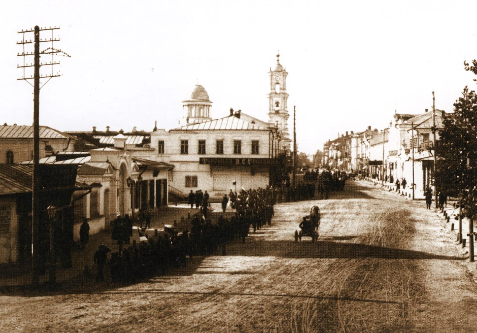 Николаевская площадь.