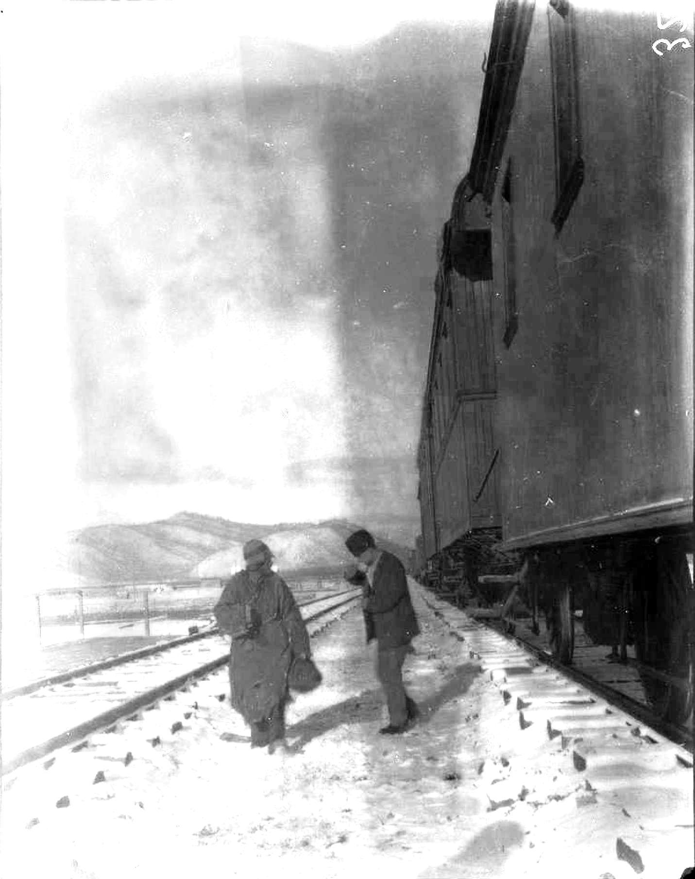 Поезд на равнине