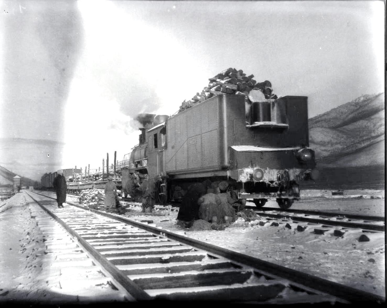 У русских проблема на железной дороге