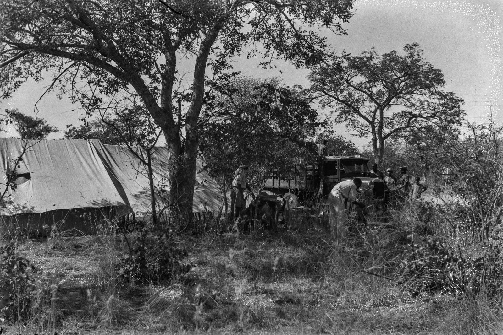 Северный Тули-Блок. Лагерь экспедиции