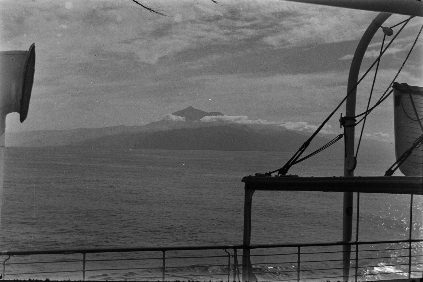 Путешествие Кейптаун-Мадейра. Тенерифе с северо-запада