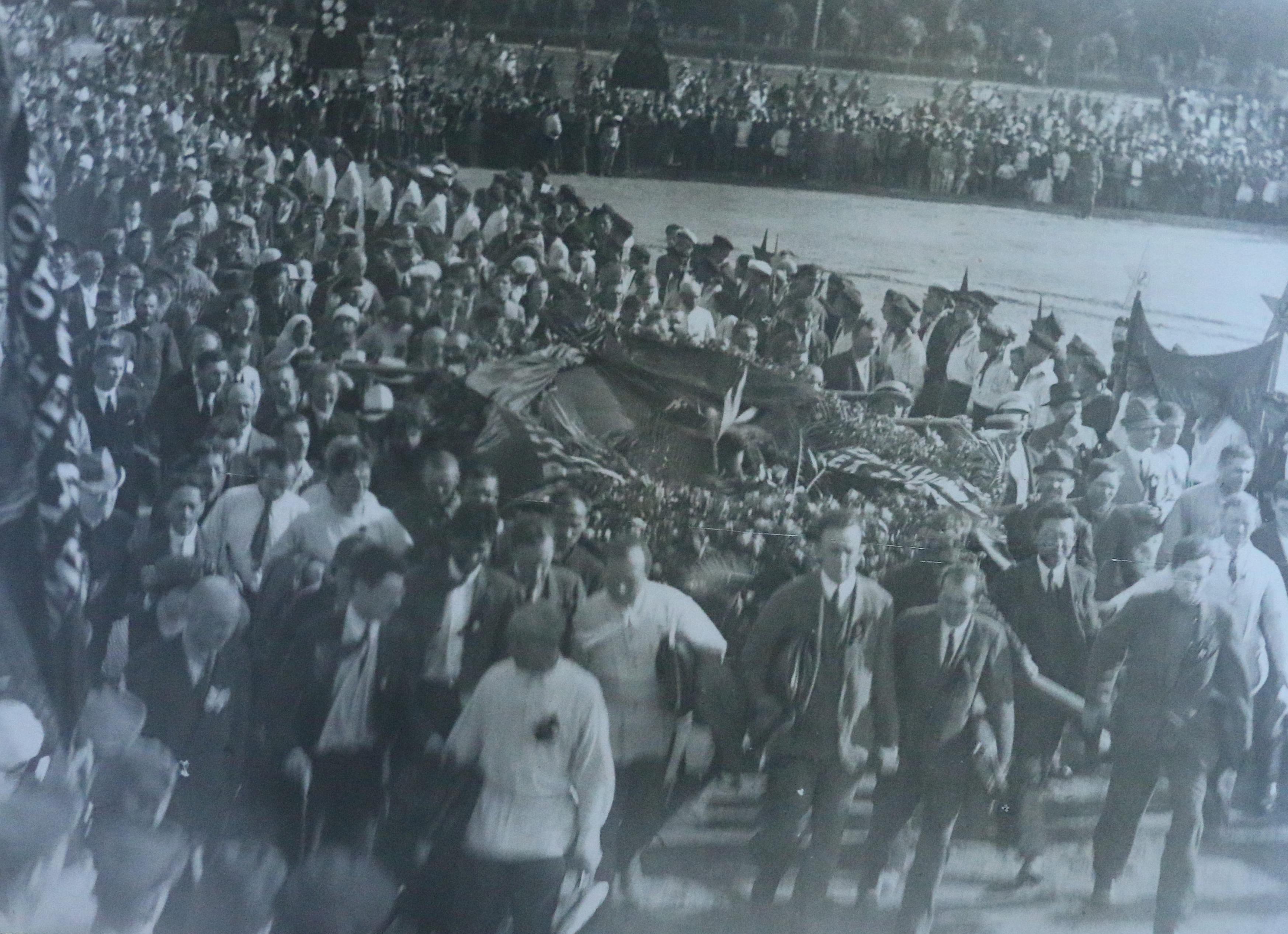 «Площадь жертв революции». 17 июля
