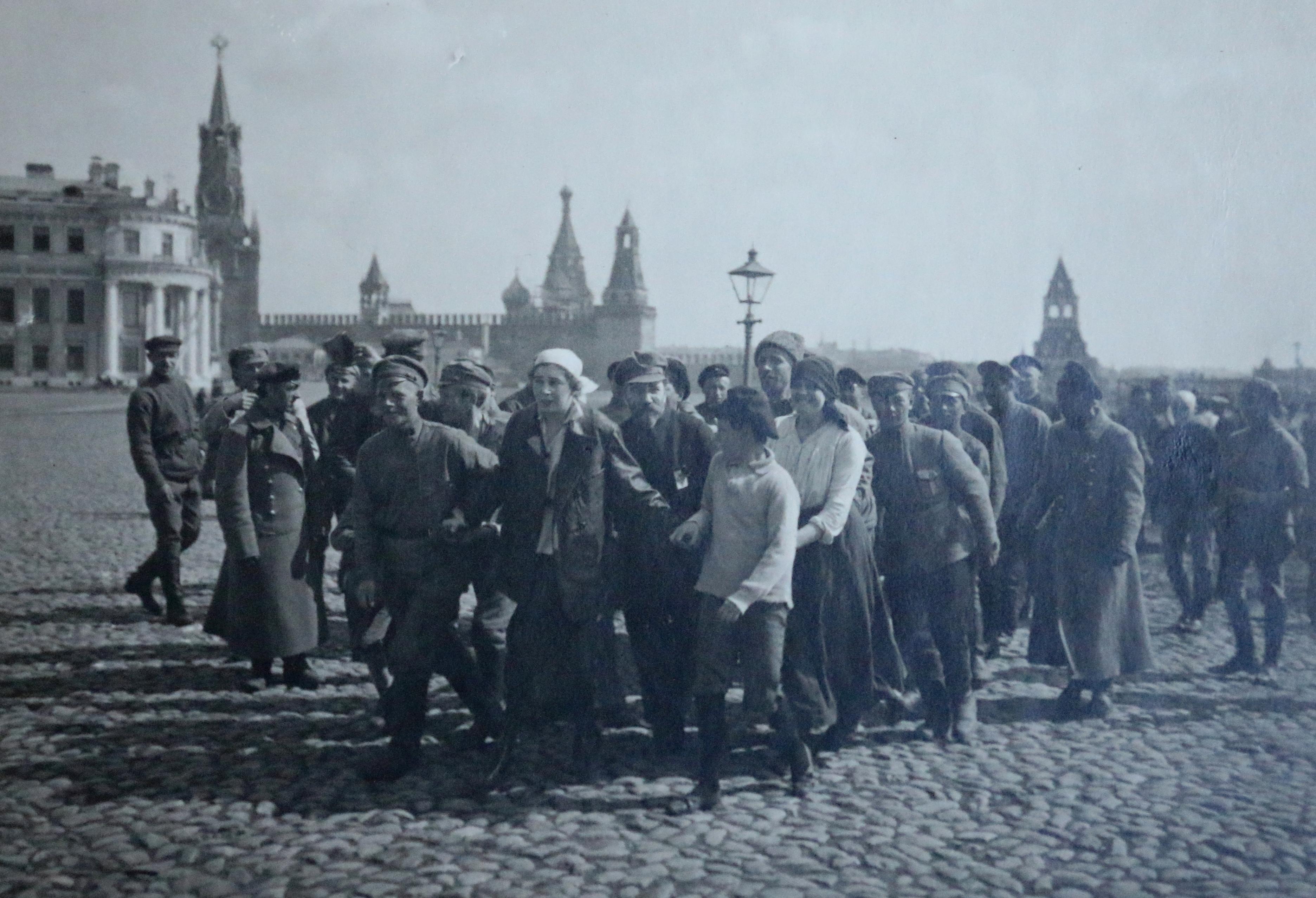 Первомайский субботник, Кремль