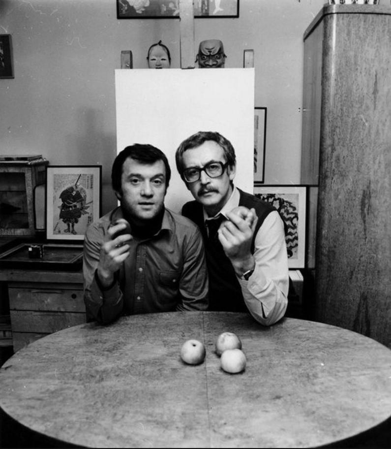 1983. Самоэль Кацев и Василий Ливанов