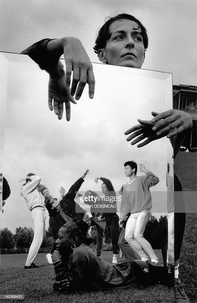 1990. Режин Шопино, французская танцовщица в Ла-Виллет, Париж