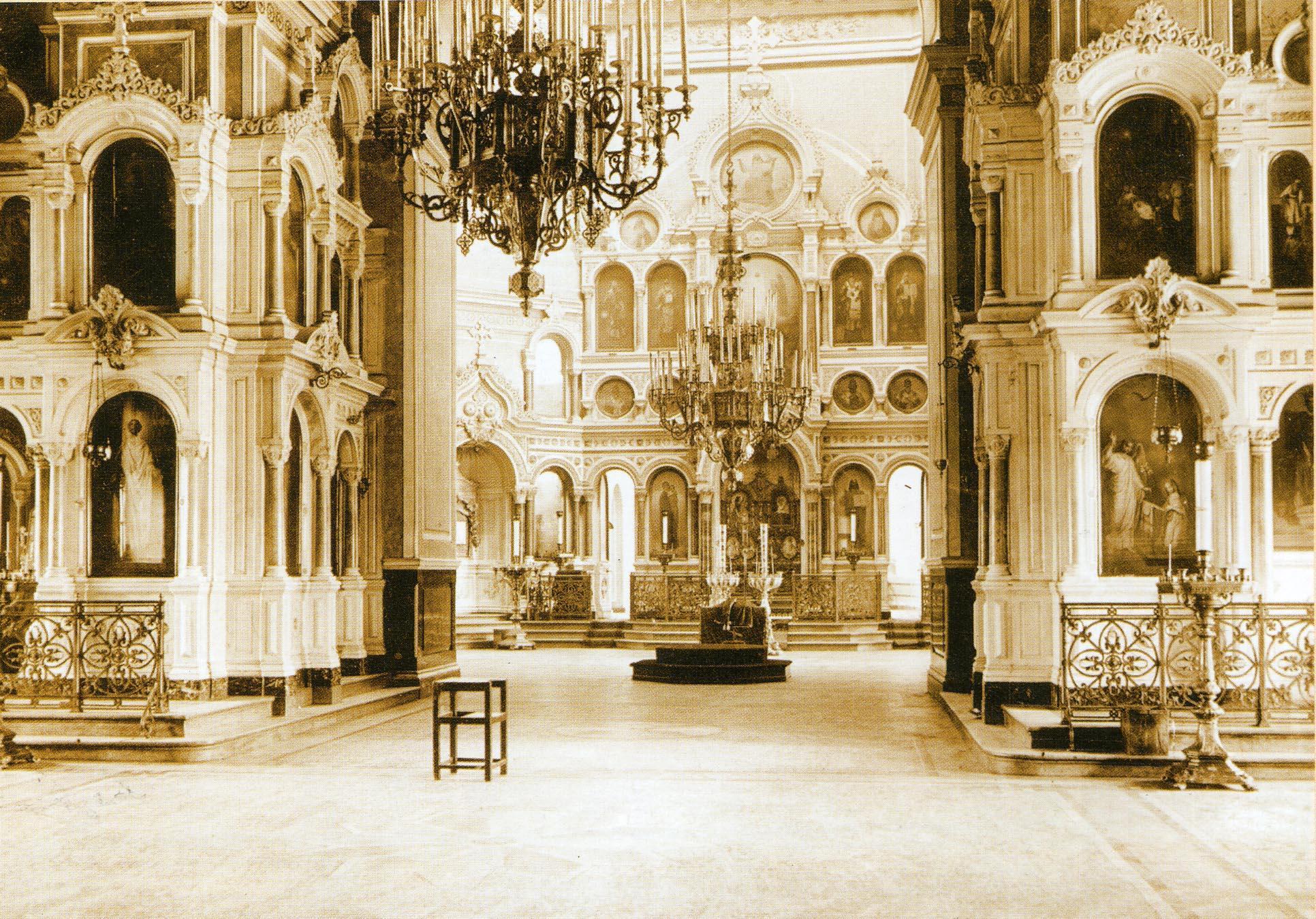 Спасо-Преображенский кафедральный собор. Интерьер.