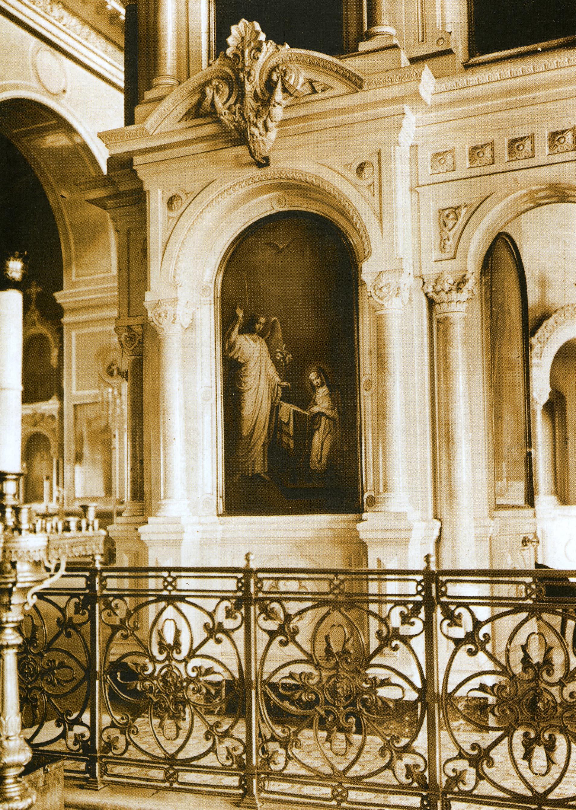Спасо-Преображенский кафедральный собор. Интерьер