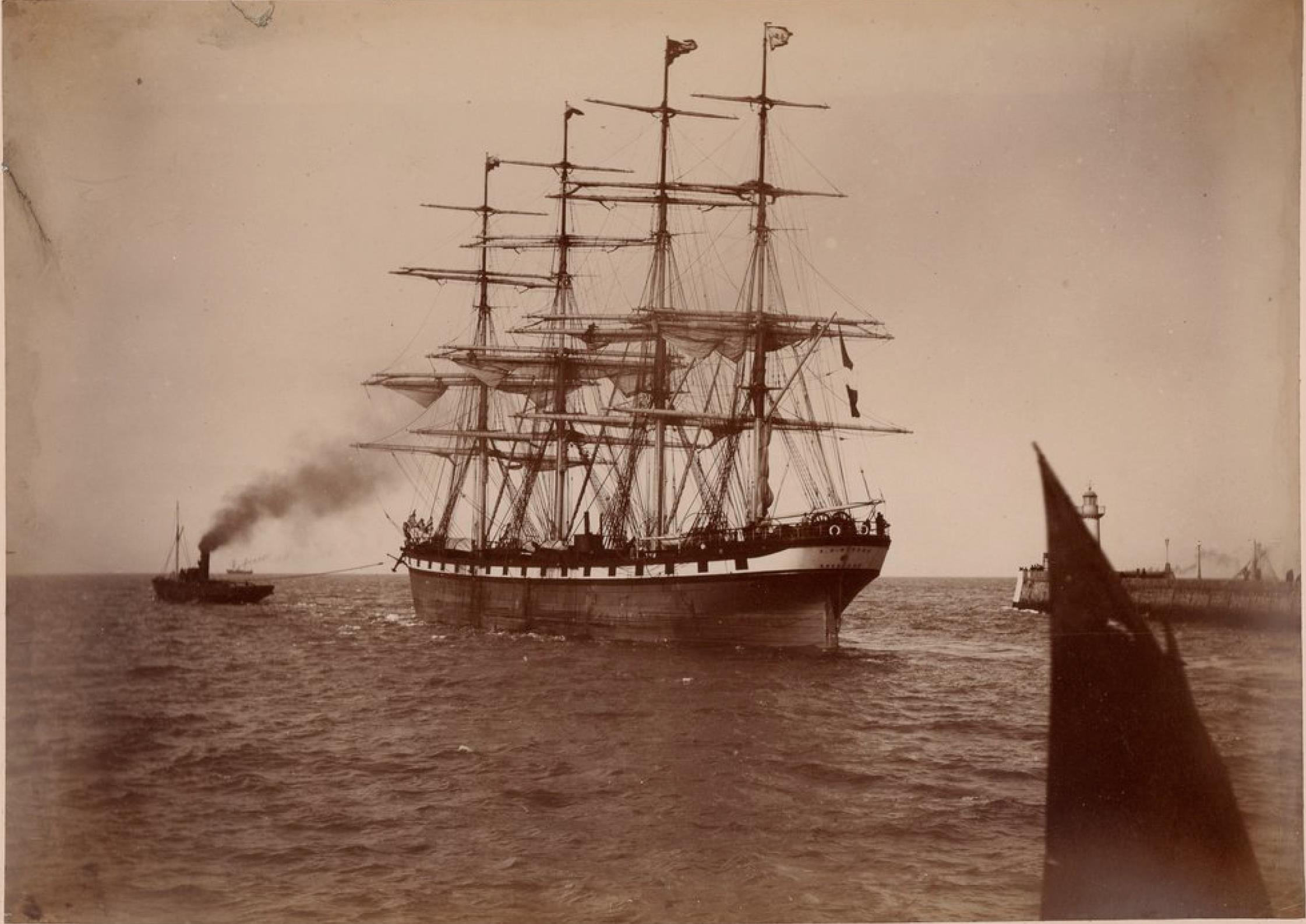 Компания «Antoine Dominique Bordes». «Antoine Dominique» - четырёхмачтовое парусное судно на линии Бордо - Южная Америка