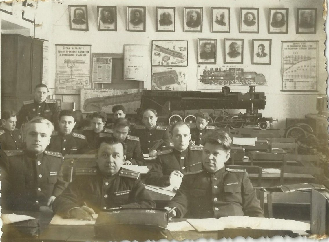 Военно-Транспортная Академия им. Кагановича9