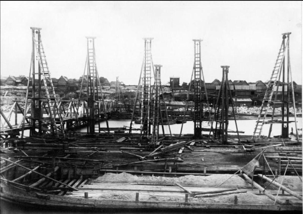 26 июня 1863. Вид с середины реки Оки на Рязанский берег