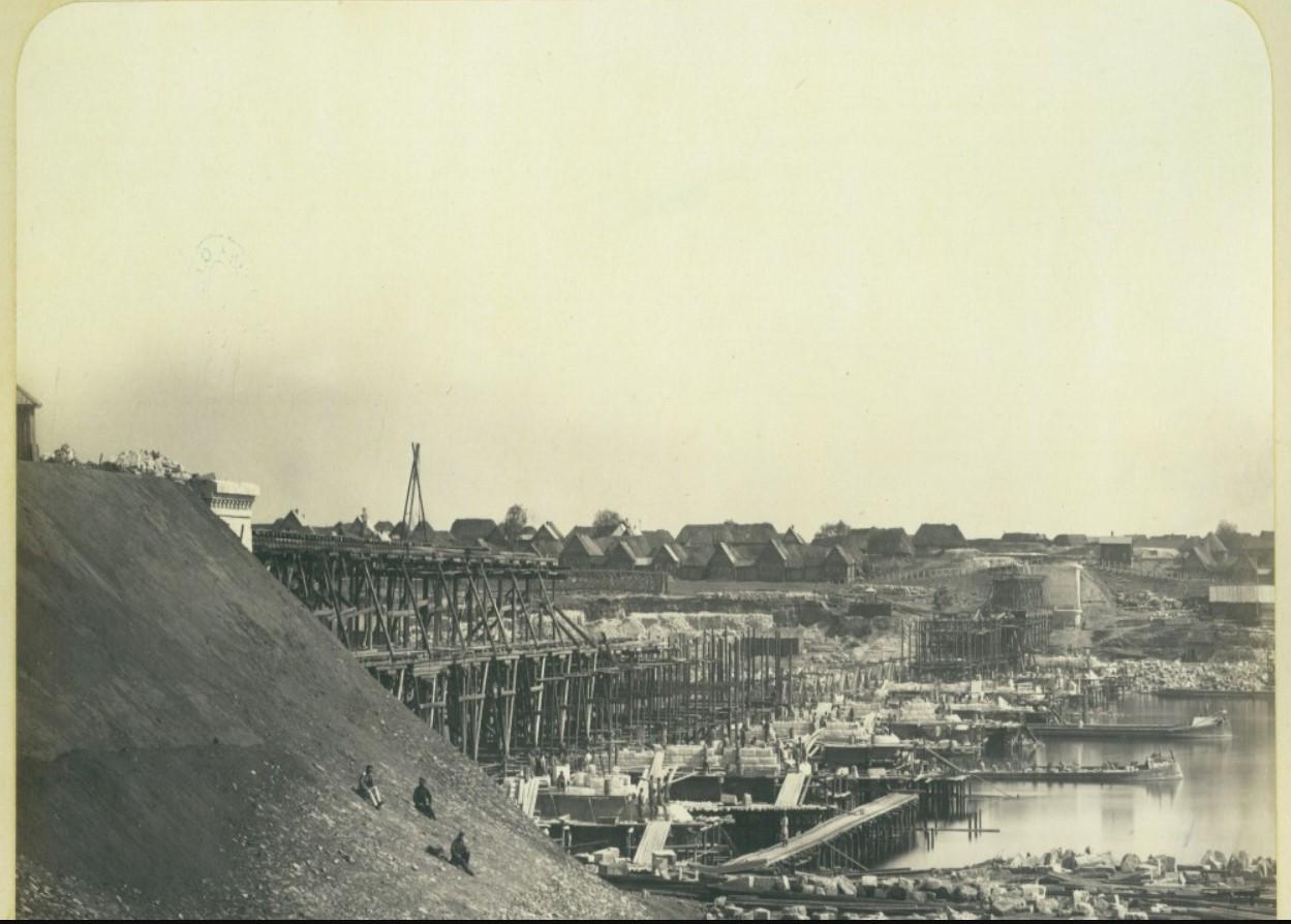 17 мая 1864 года. Строительные работы второго периода начались