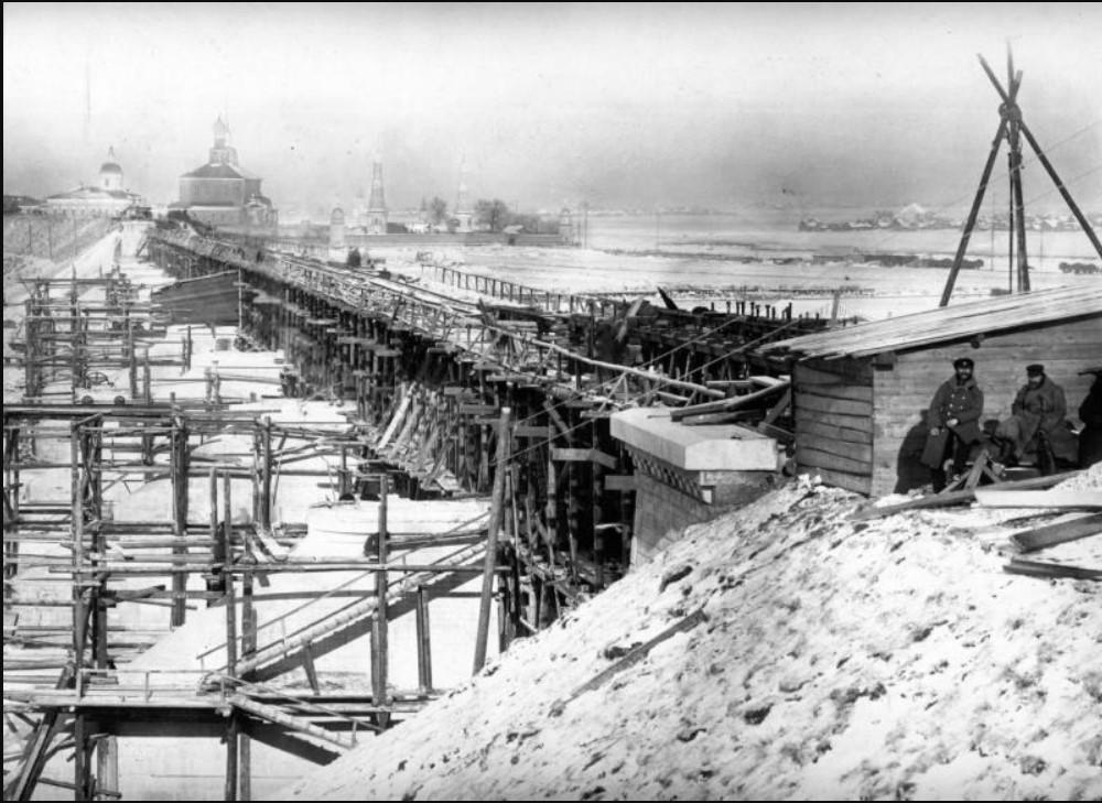 23 октября 1864. Вид с Рязанского берега реки Оки