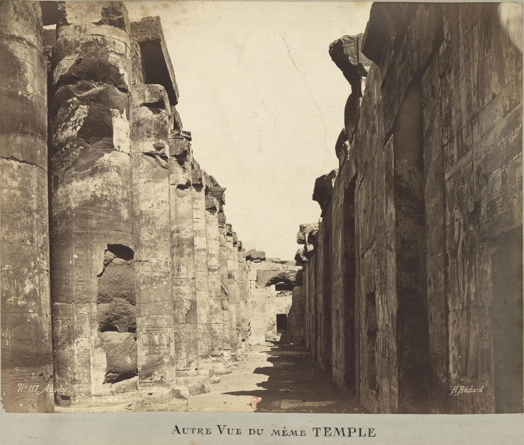 Абидос, Храм Сети I. Другой взгляд на тот же храм