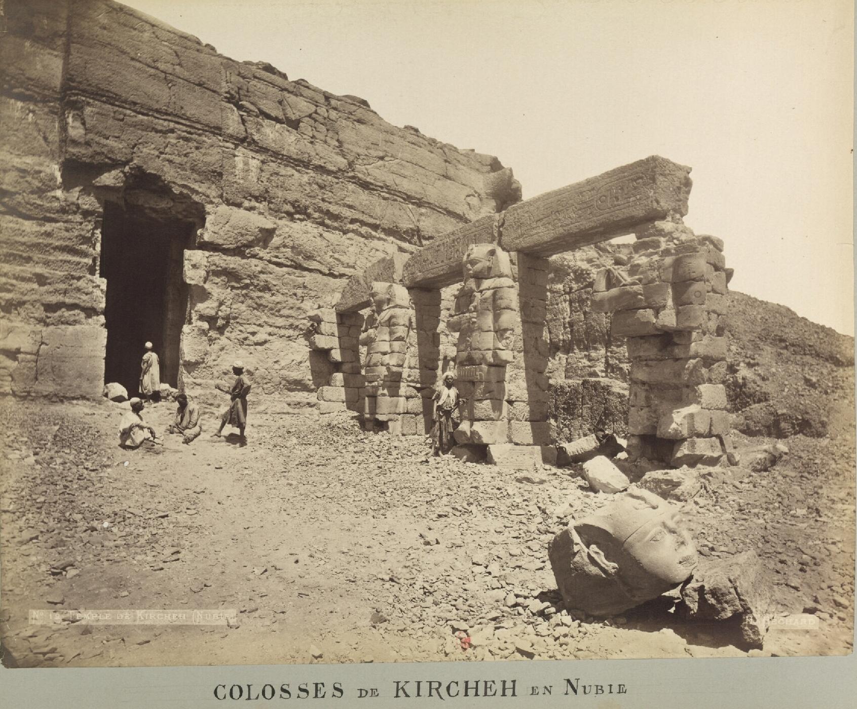 Колоссы Кирхеха в Нубии
