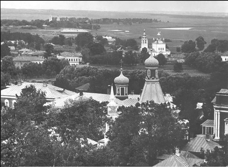 Успенский Брусенский женский монастырь, церковь Успения Пресвятой Богородицы