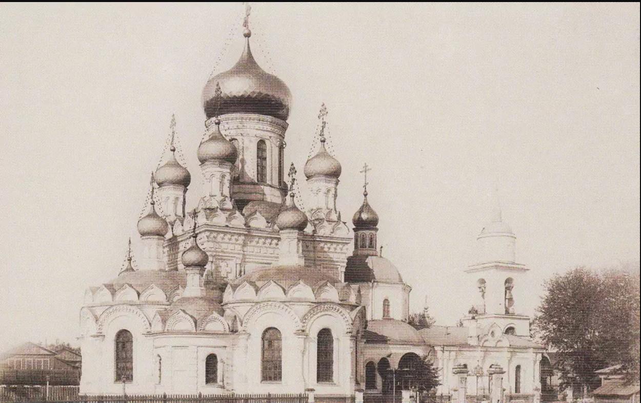 Церковь Всех Святых в Боброве