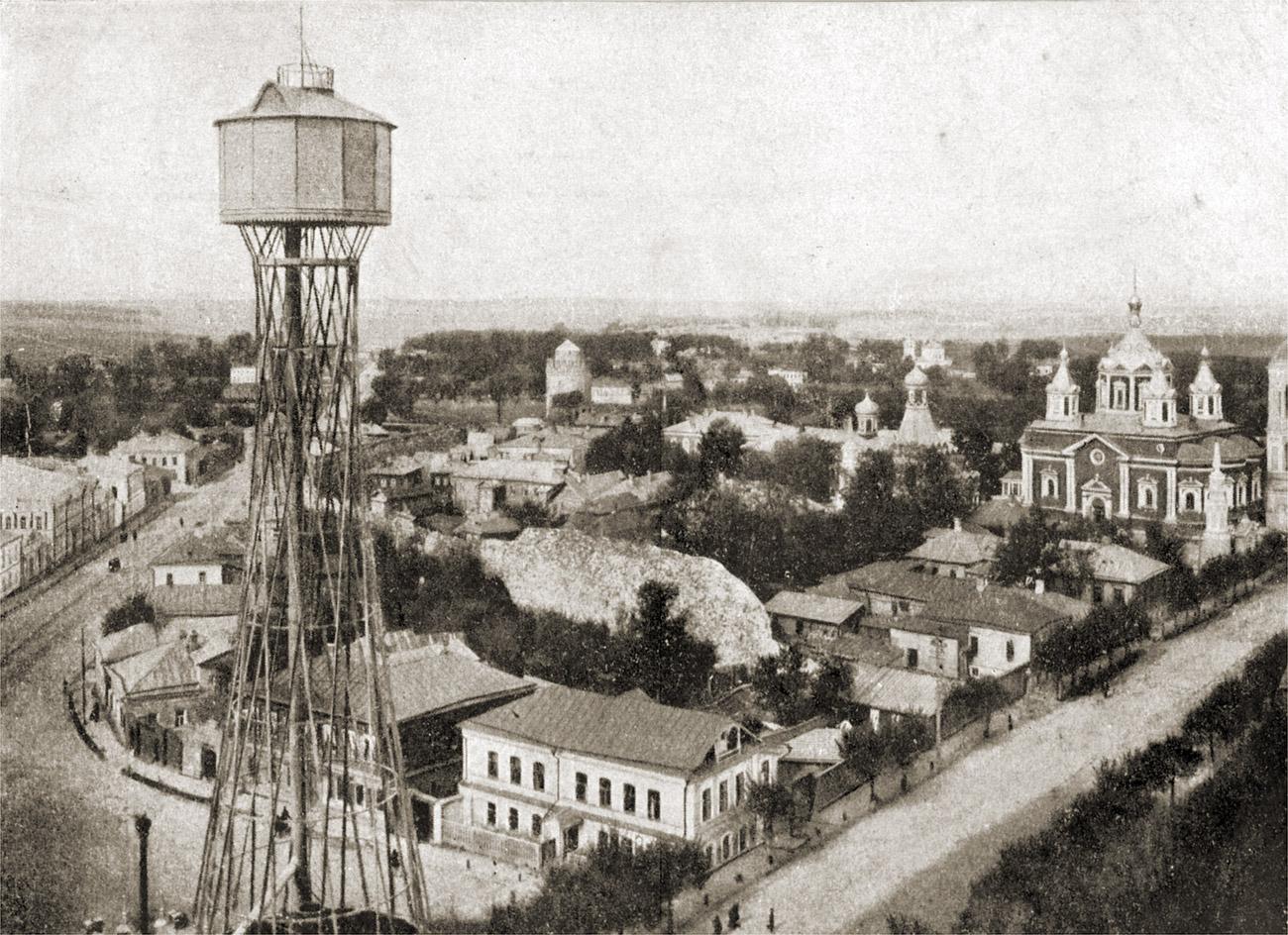 Шуховская водонапорная башня1