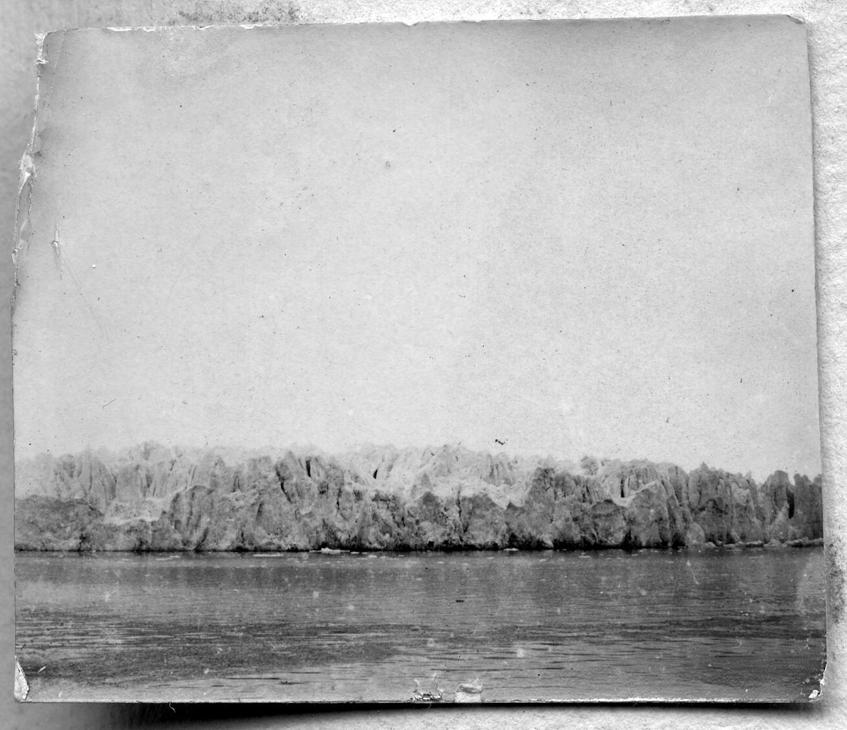 Ледяные скалы глетчера Попова