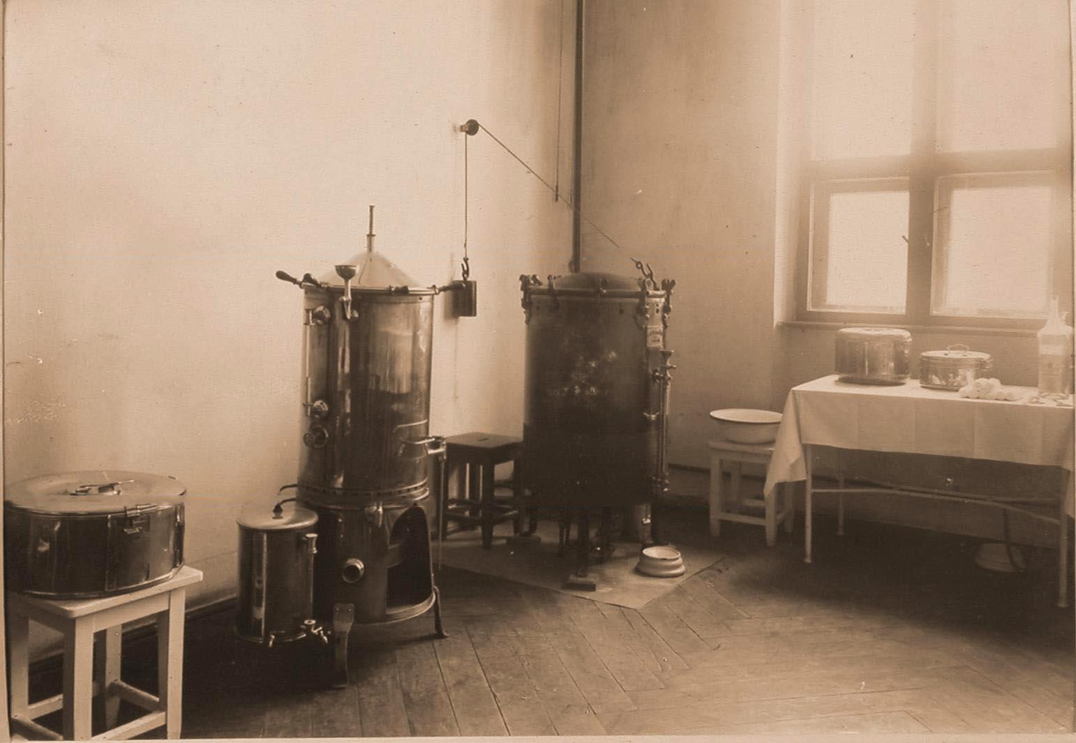 13. Вид помещения стерилизационной госпиталя